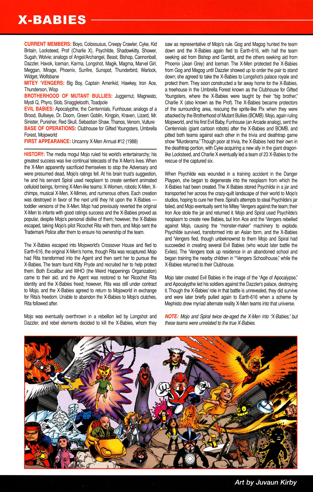 Read online All-New Official Handbook of the Marvel Universe A to Z comic -  Issue #12 - 52