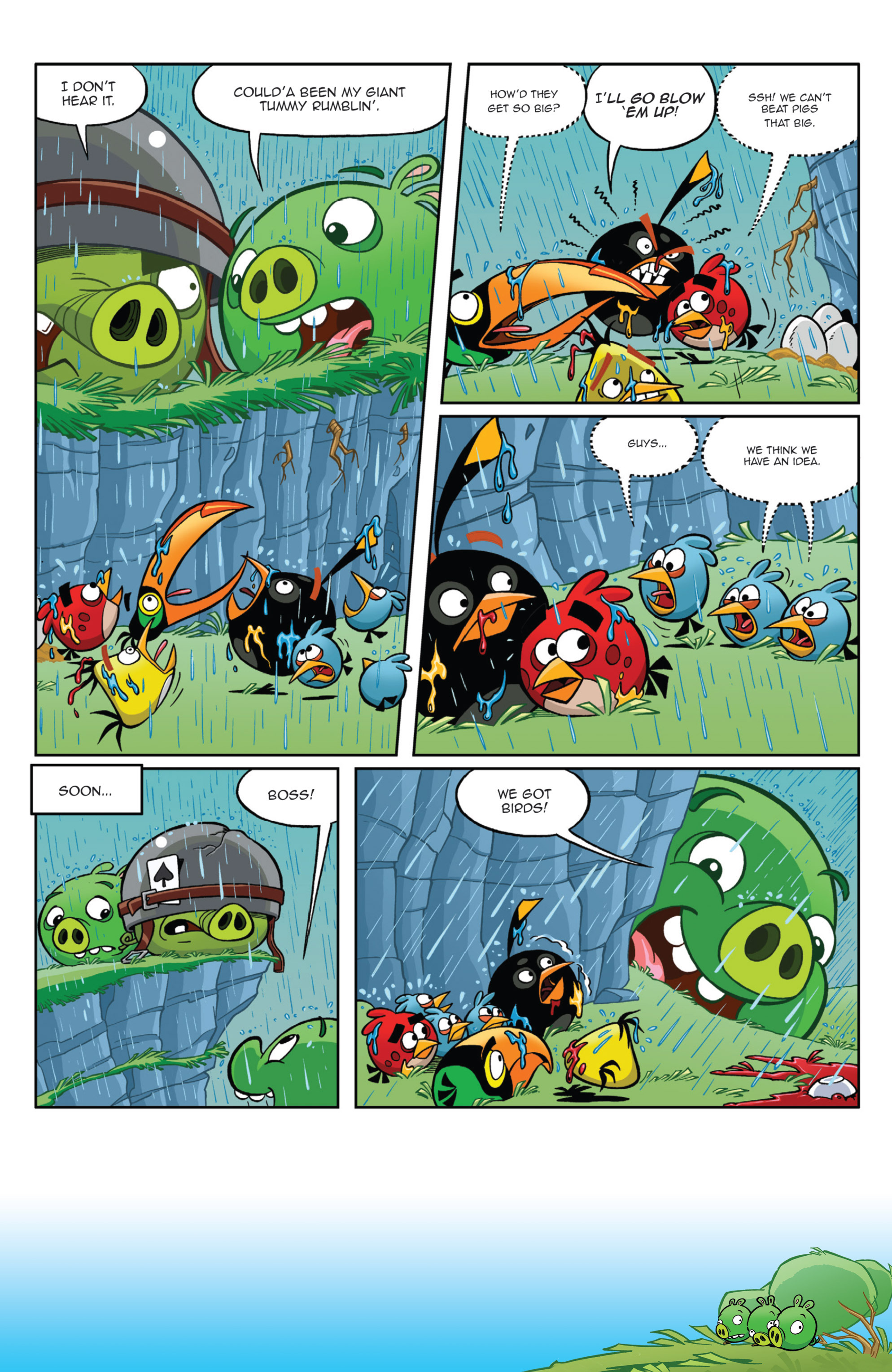 Read online Angry Birds Comics (2014) comic -  Issue #9 - 9