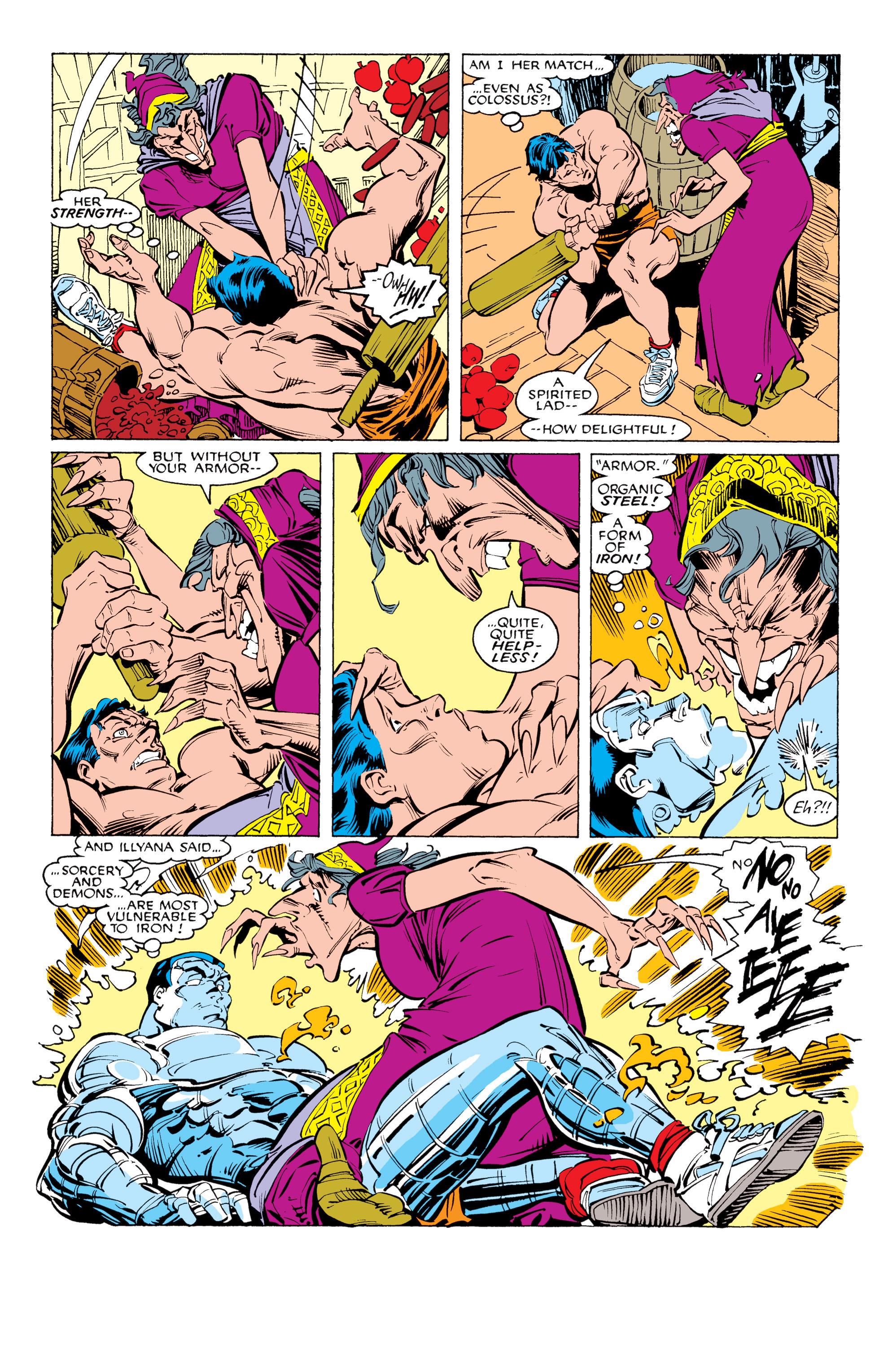 Read online Uncanny X-Men (1963) comic -  Issue #231 - 19