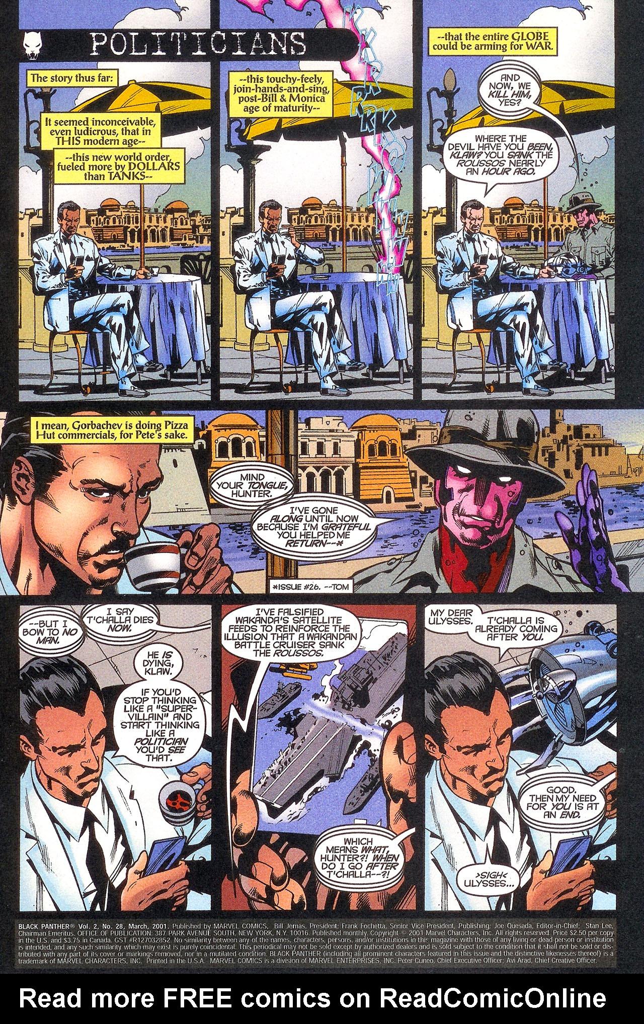 Black Panther (1998) 28 Page 2