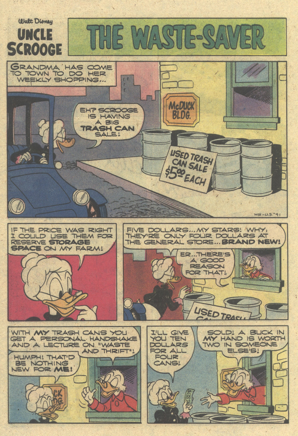 Read online Uncle Scrooge (1953) comic -  Issue #171 - 28