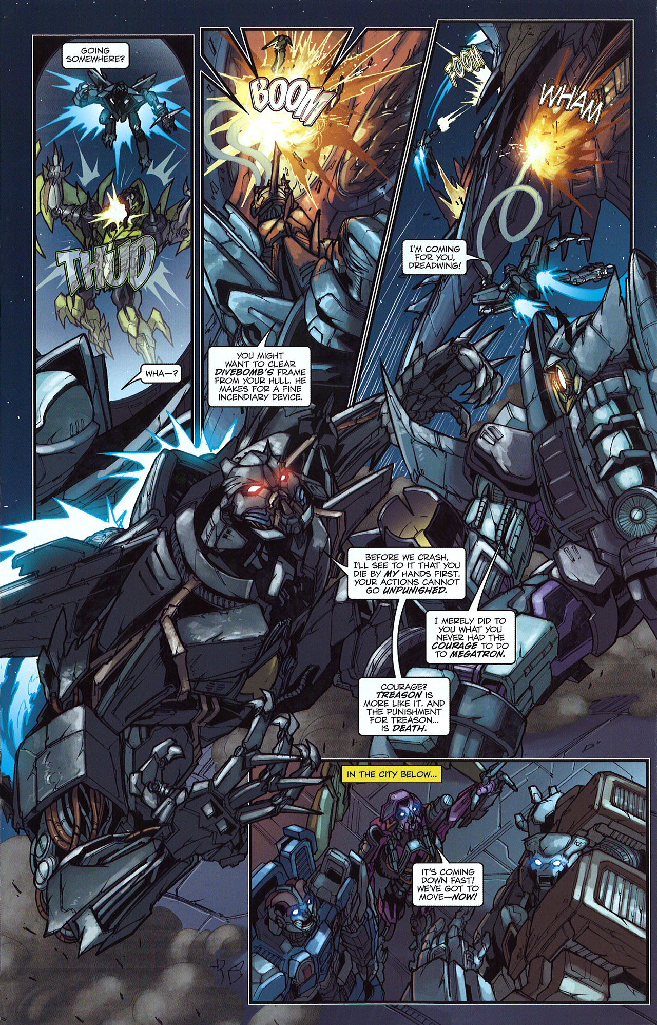 Read online Transformers: The Reign of Starscream comic -  Issue #5 - 20