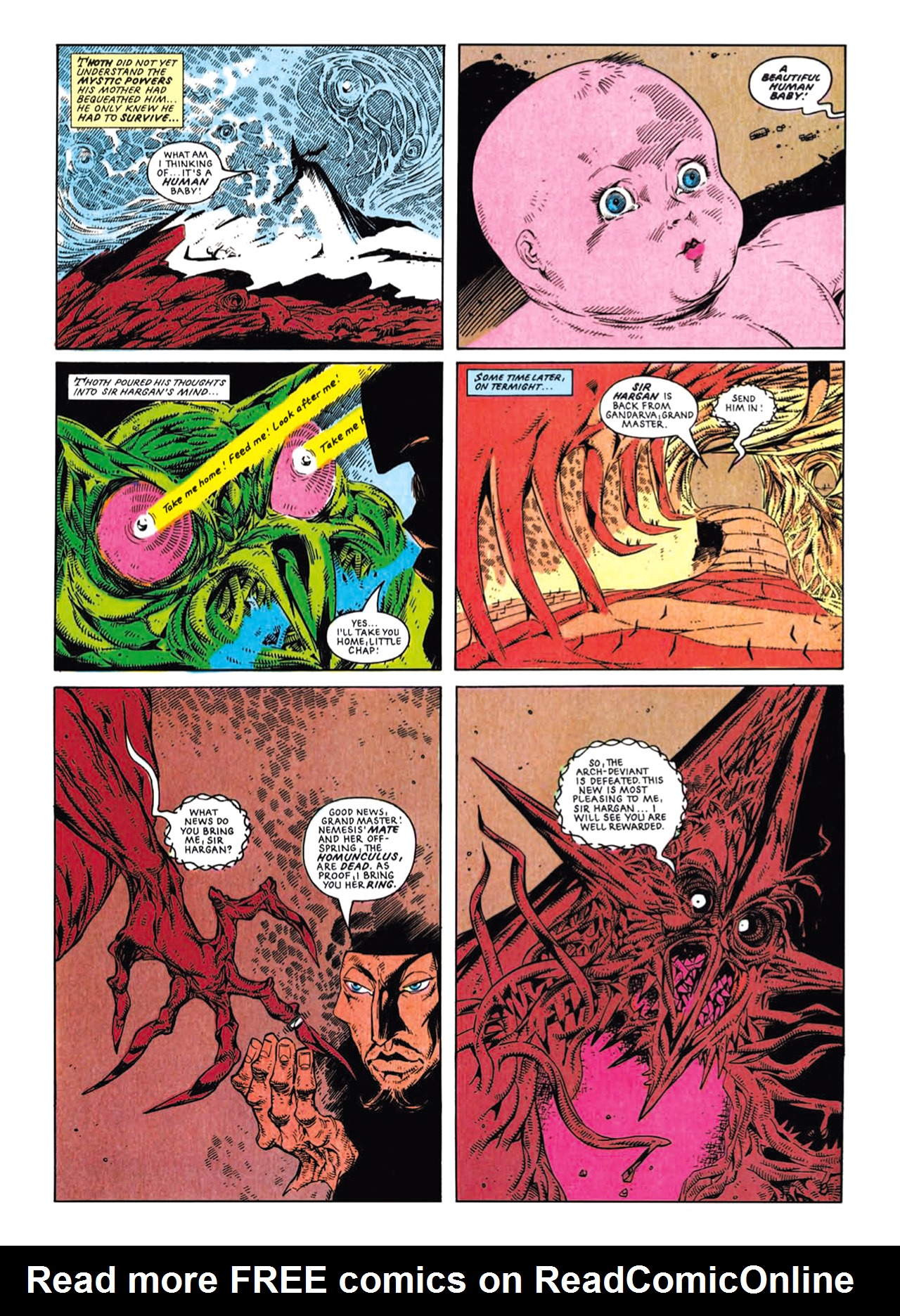 Read online Nemesis The Warlock comic -  Issue # TPB Deviant Edition - 218