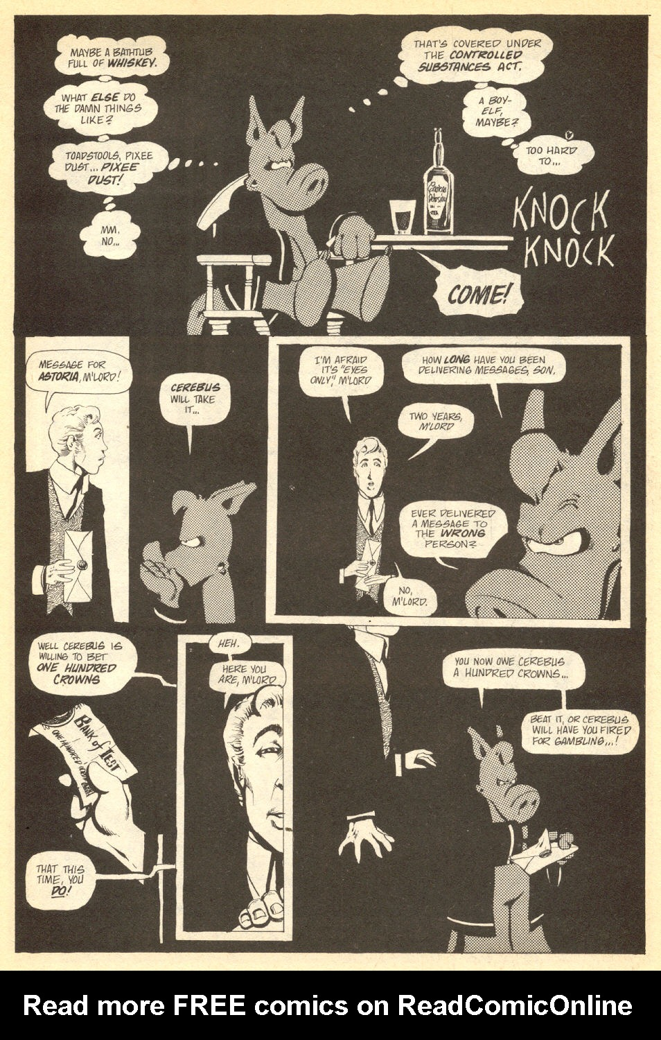 Cerebus Issue #33 #33 - English 16