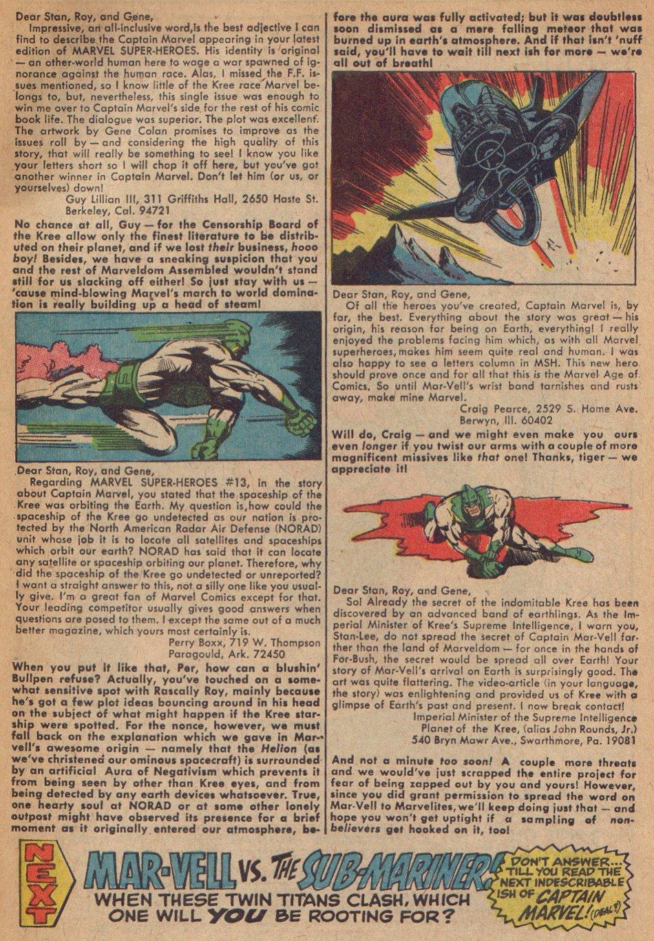 Captain Marvel (1968) Issue #3 #3 - English 24