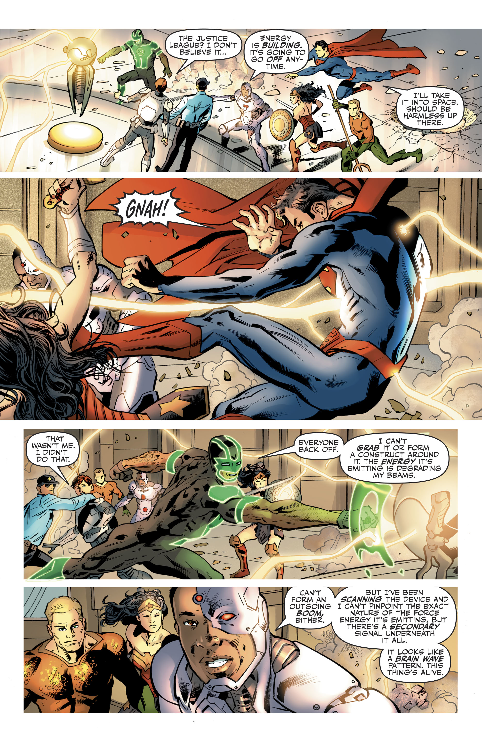 Read online Justice League (2016) comic -  Issue #21 - 18