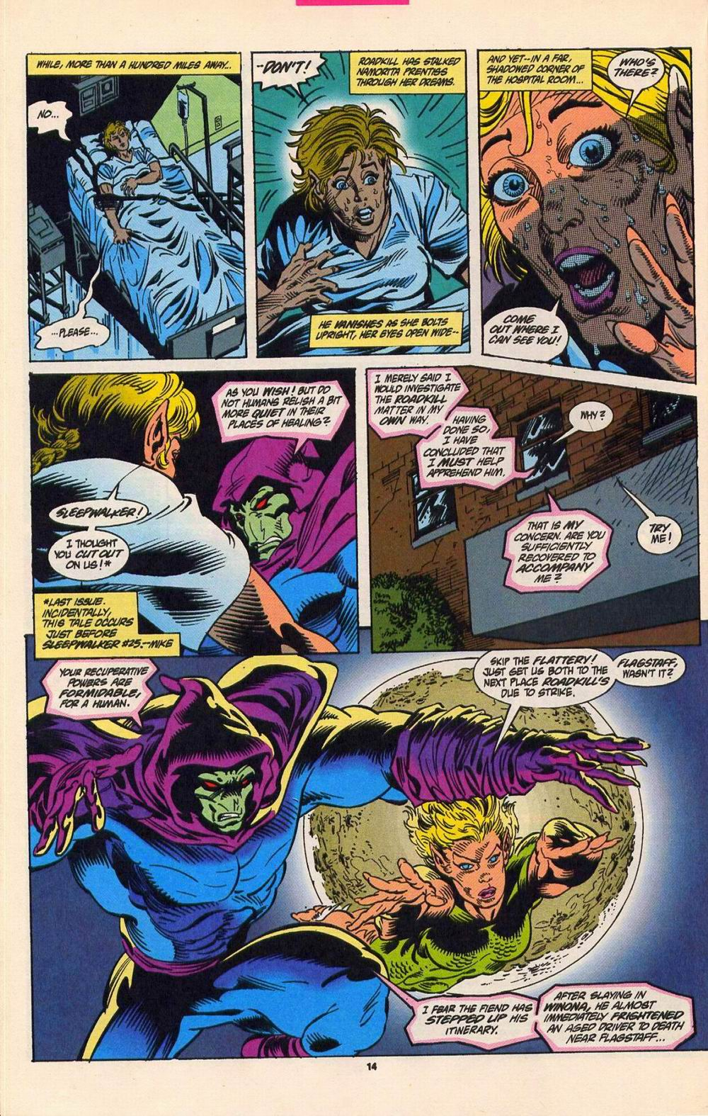 Read online Secret Defenders comic -  Issue #5 - 11