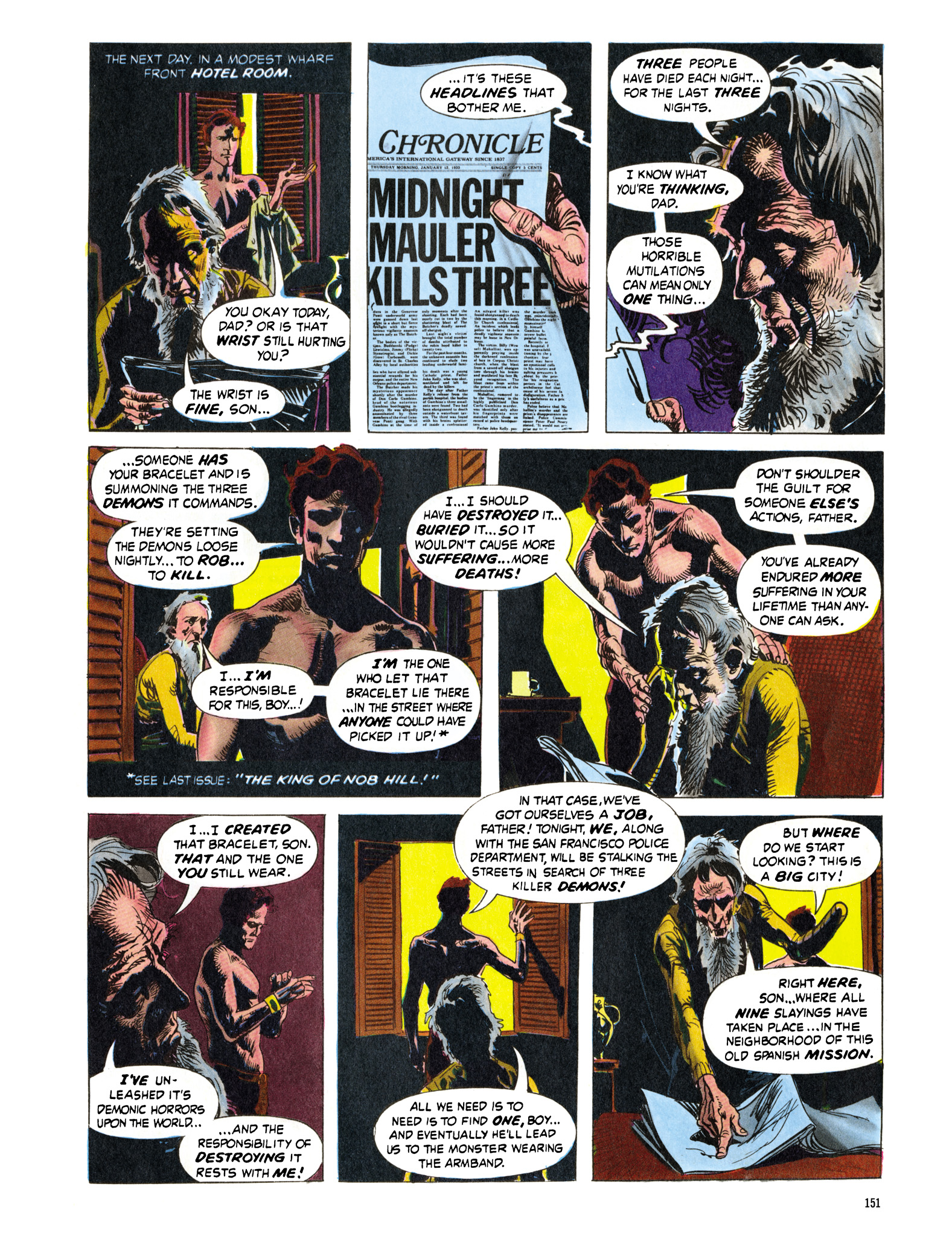 Read online Eerie Archives comic -  Issue # TPB 16 - 152