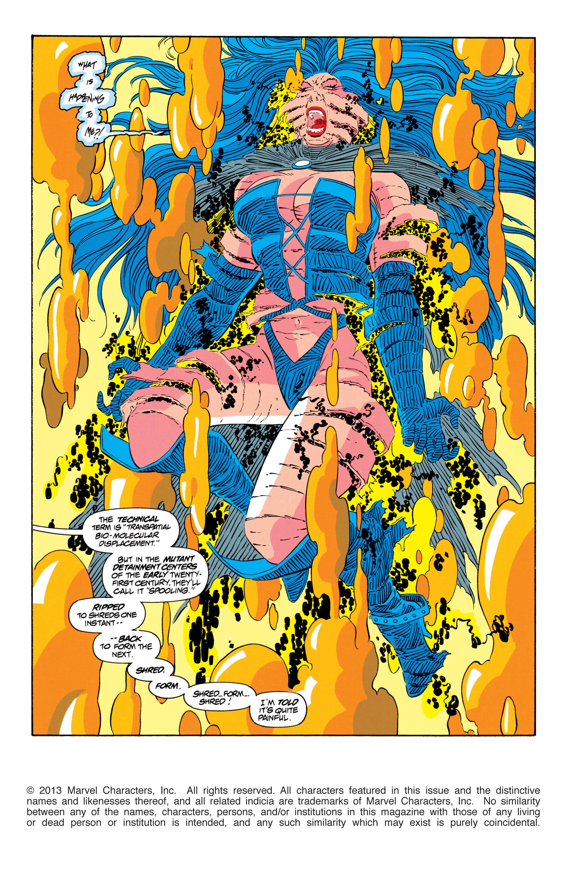 Read online Uncanny X-Men (1963) comic -  Issue #301 - 2
