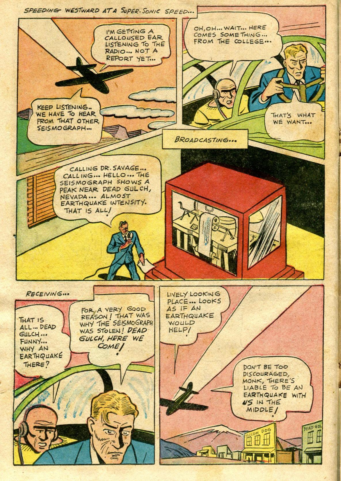 Read online Shadow Comics comic -  Issue #65 - 22