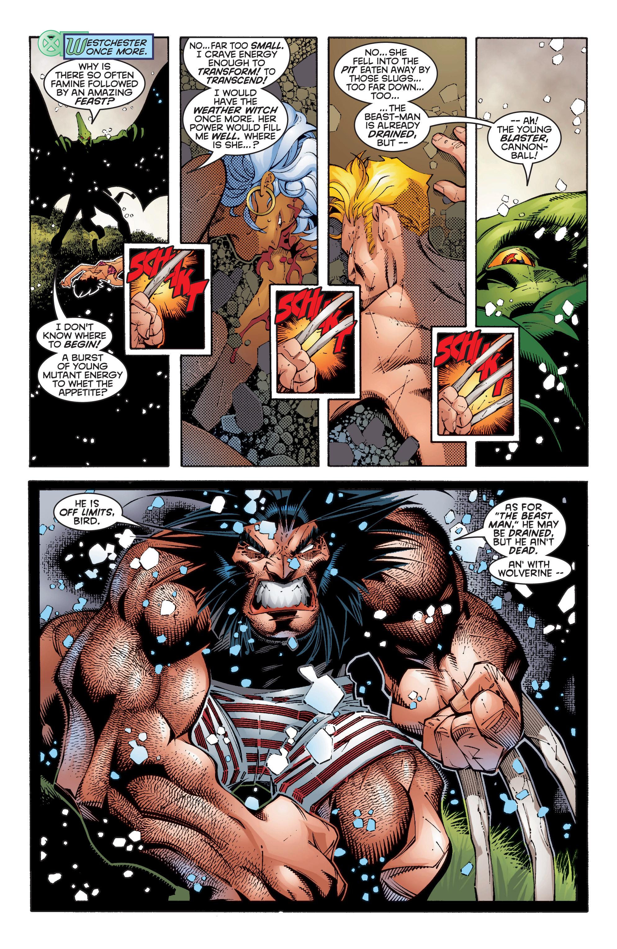 Read online Uncanny X-Men (1963) comic -  Issue #354 - 19