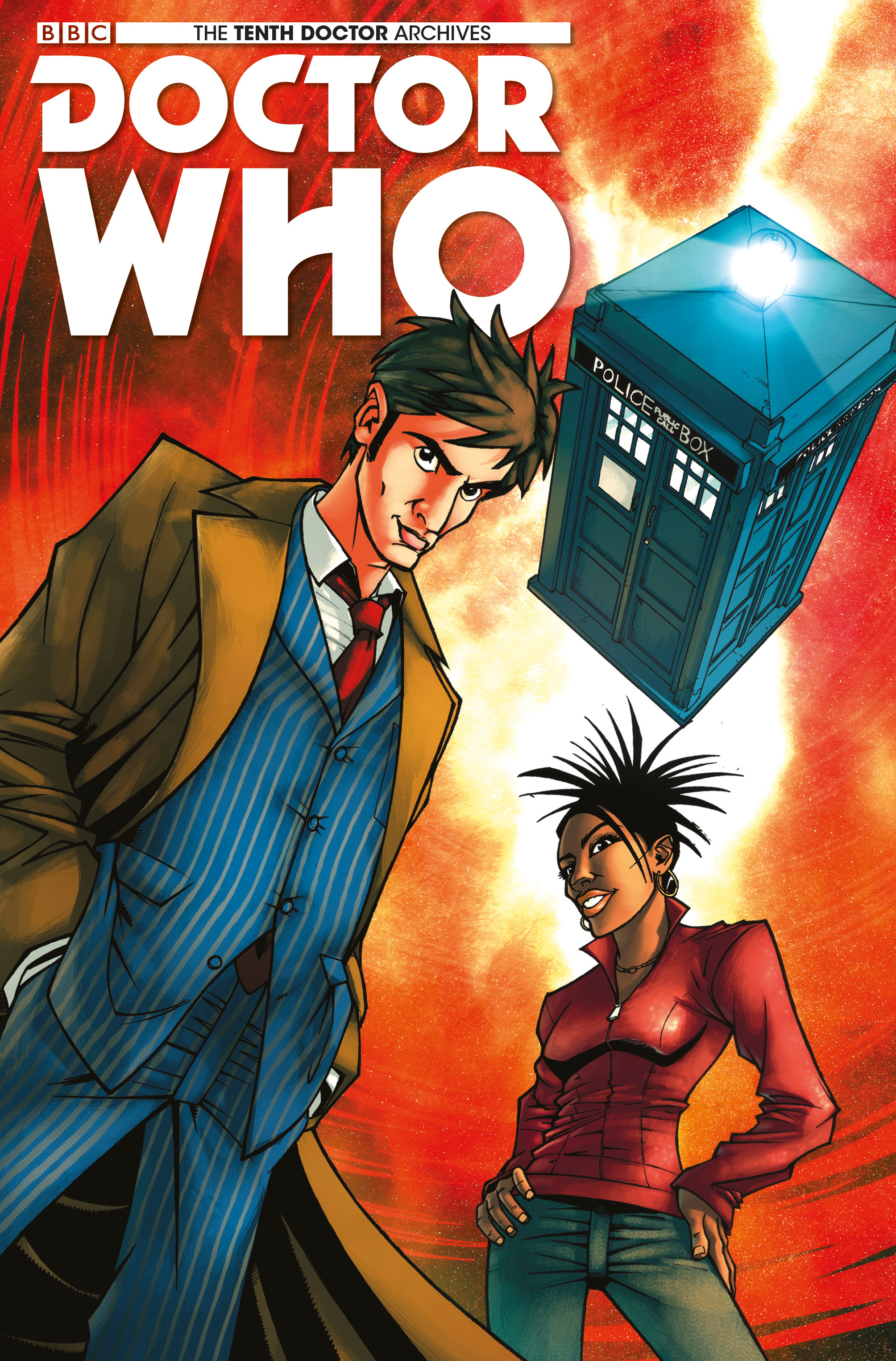 Doctor Who: The Tenth Doctor Archives 1 Page 1