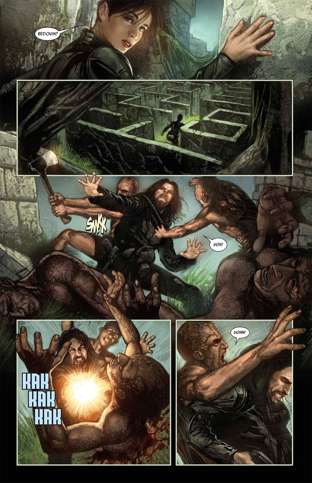 Read online After Dark comic -  Issue #2 - 25