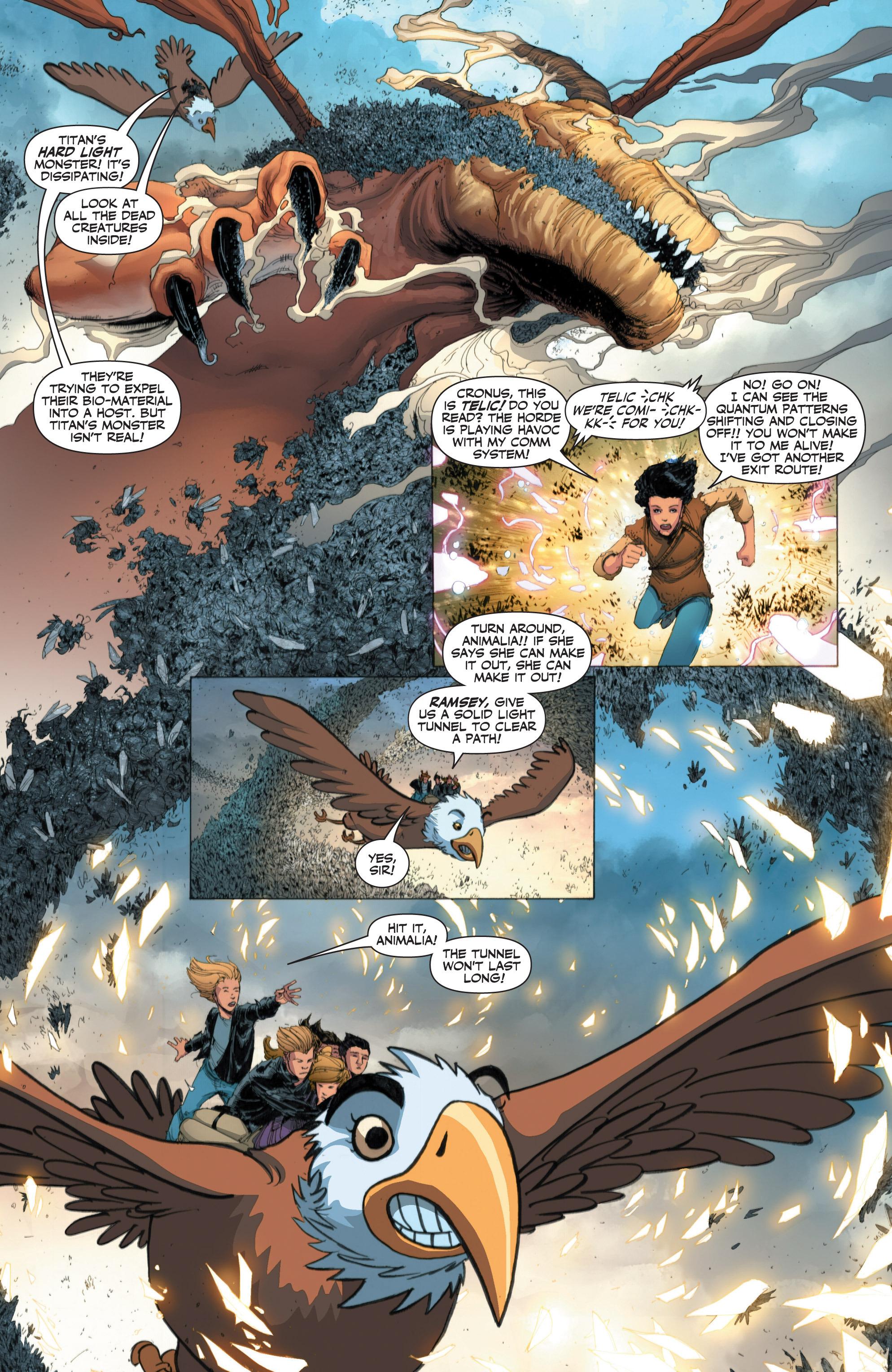 Read online Armor Hunters: Harbinger comic -  Issue # TPB - 58