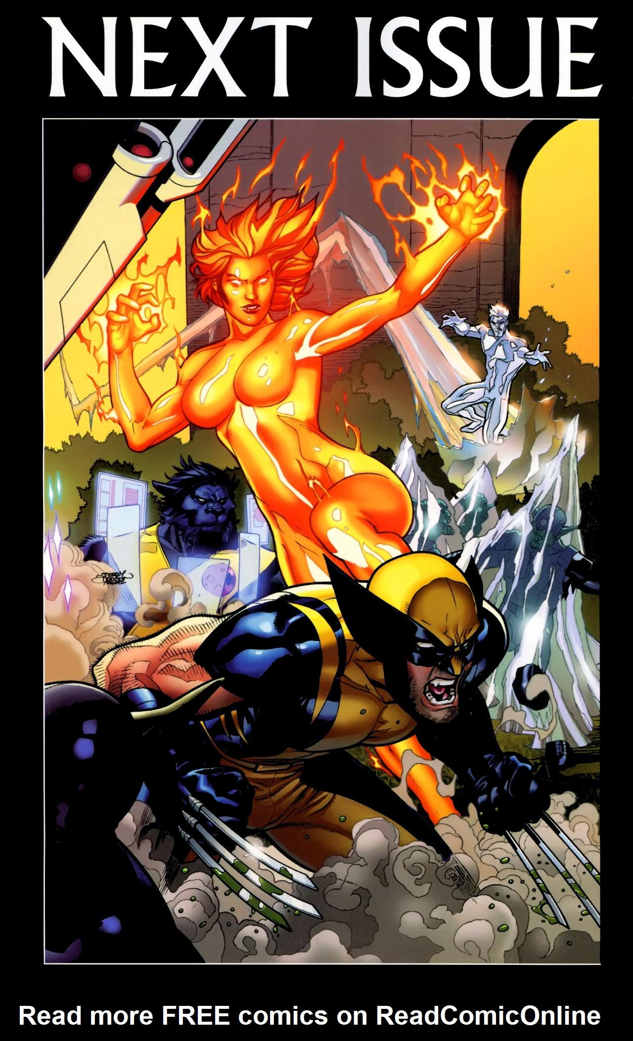 Read online Secret Invasion: X-Men comic -  Issue #3 - 25