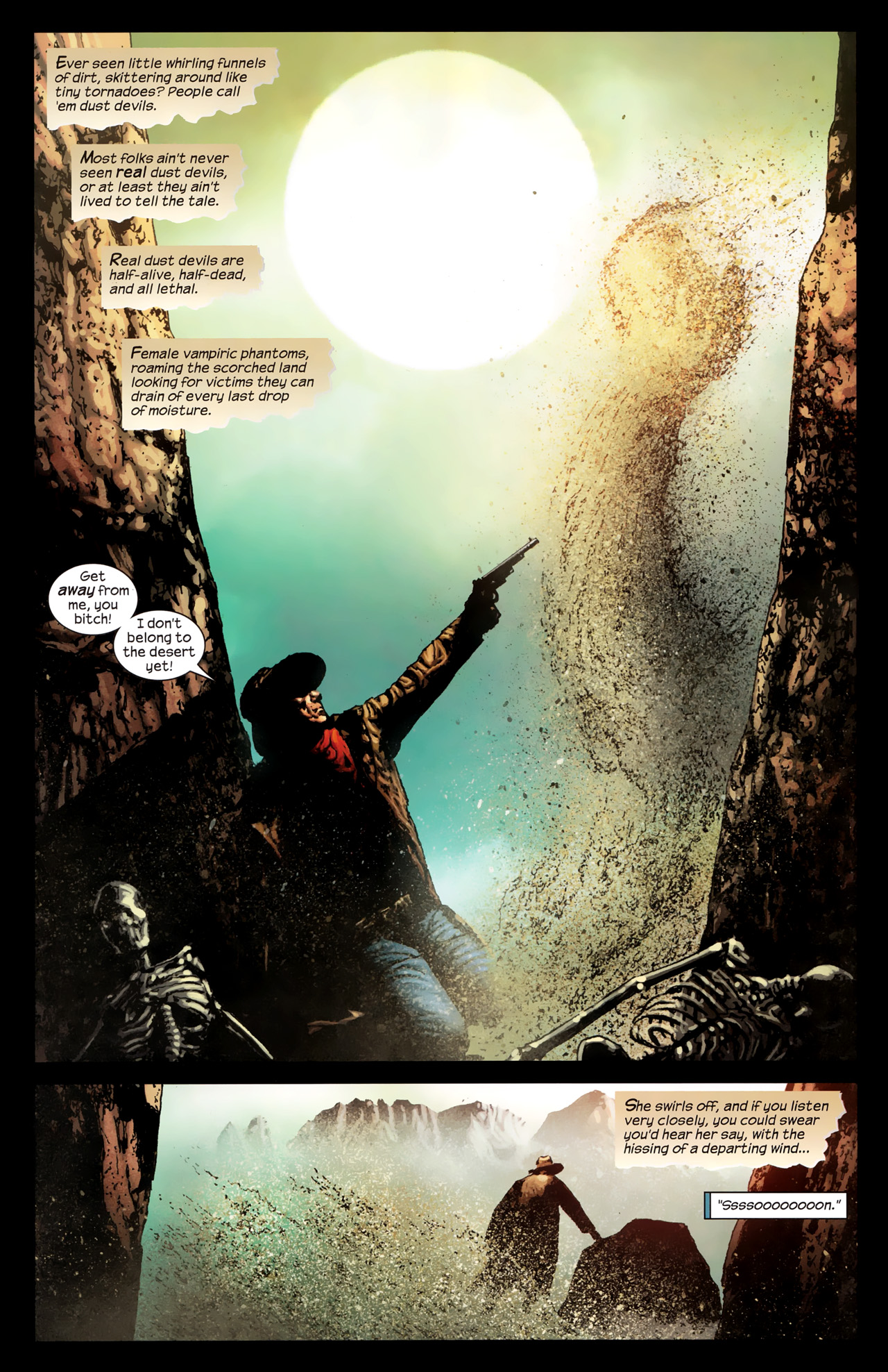 Read online Dark Tower: The Gunslinger - The Way Station comic -  Issue #1 - 19