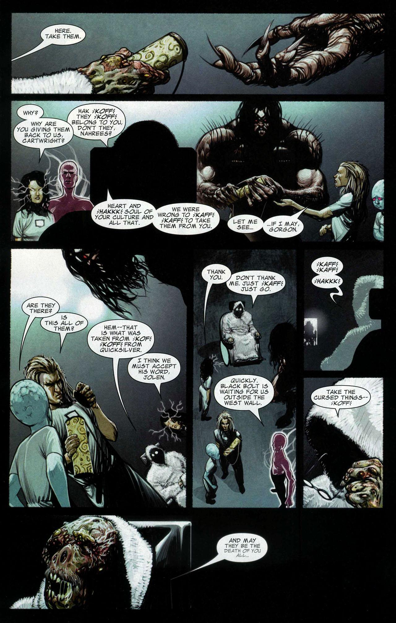 Read online Silent War comic -  Issue #5 - 12