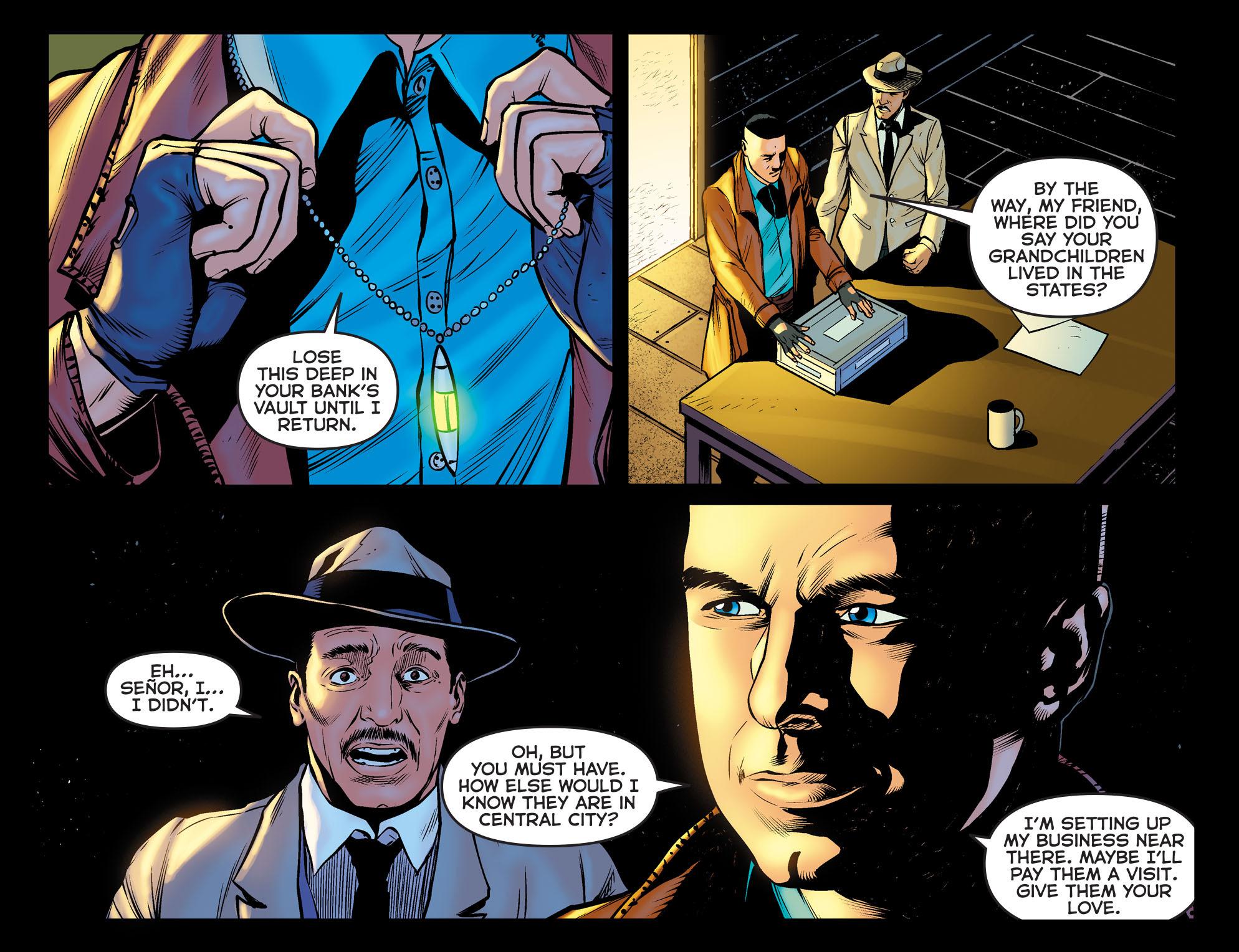Read online Arrow: The Dark Archer comic -  Issue #11 - 18