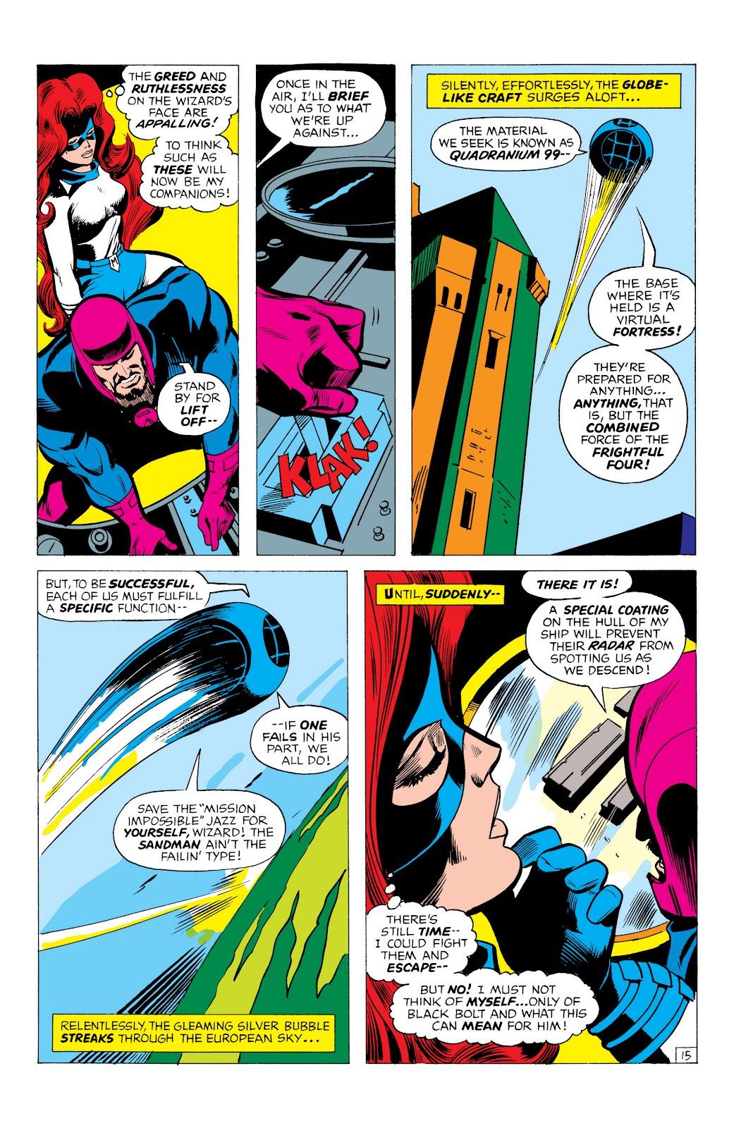 Read online Marvel Masterworks: The Inhumans comic -  Issue # TPB 1 (Part 1) - 58
