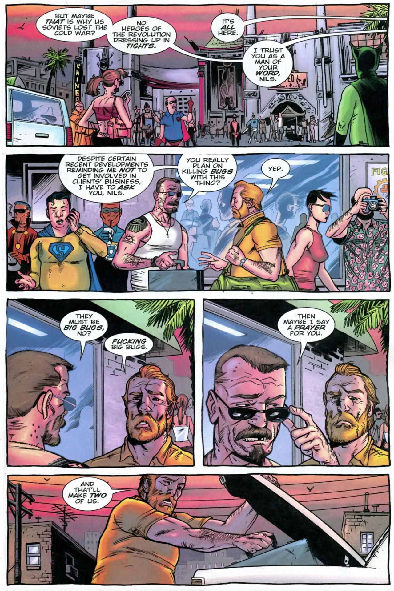 Read online The Exterminators comic -  Issue #28 - 4