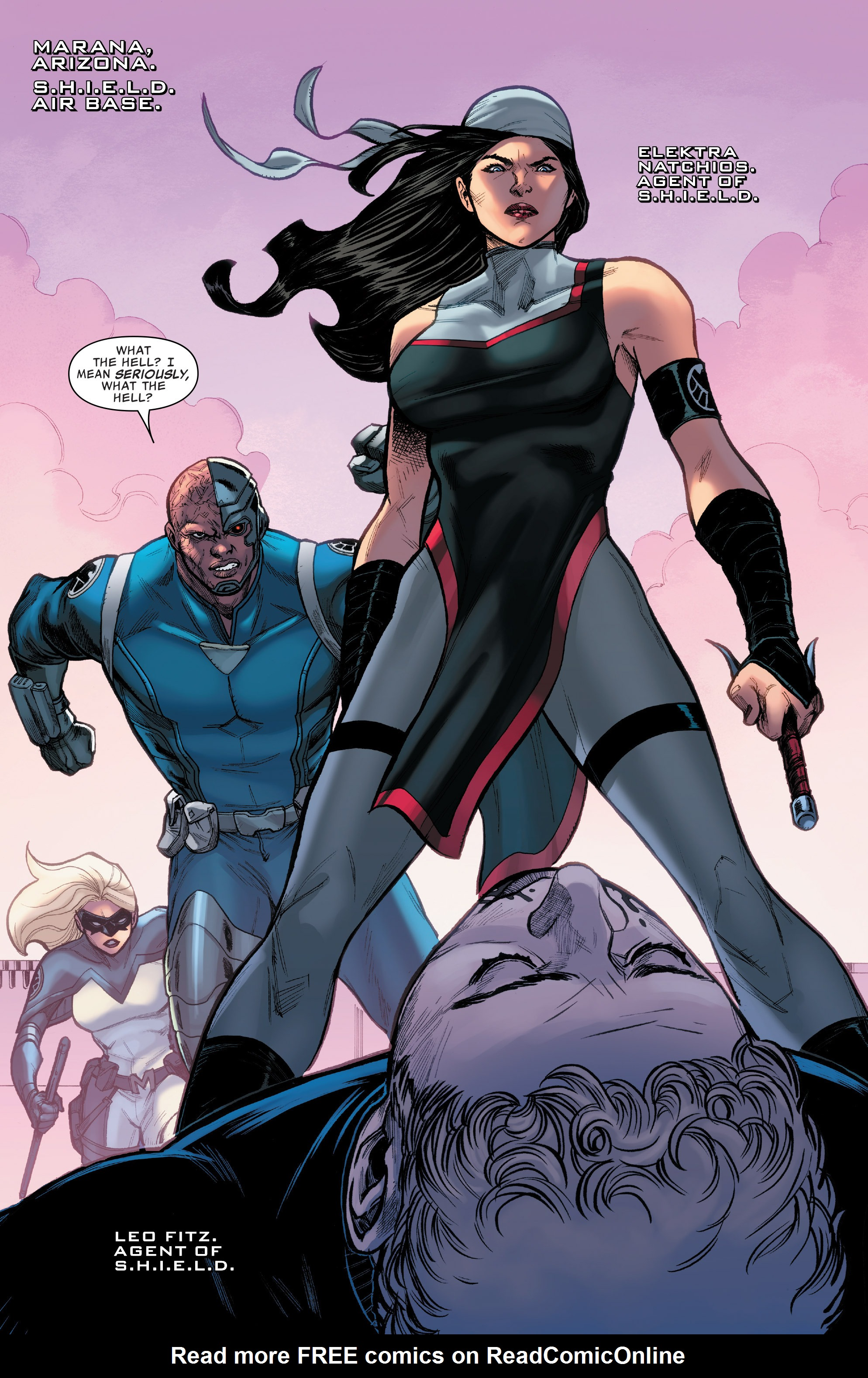 Read online Agents of S.H.I.E.L.D. comic -  Issue #9 - 2