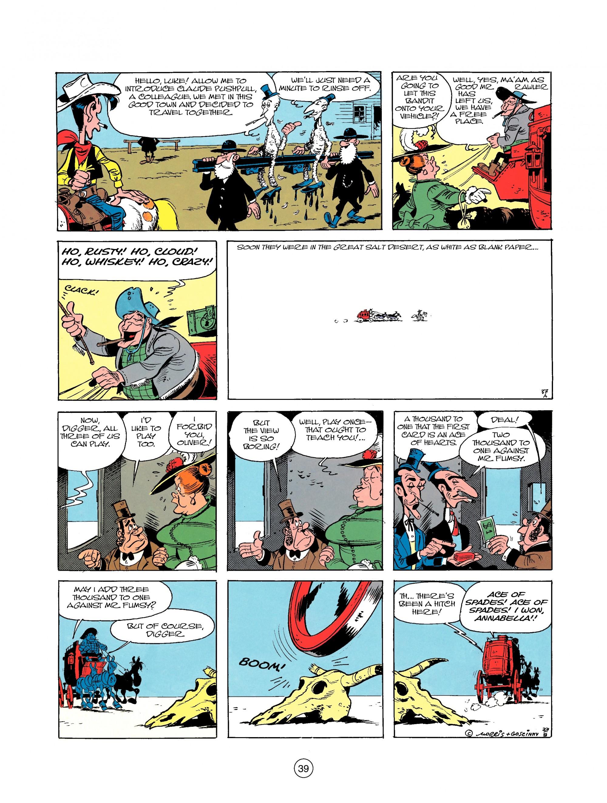 Read online A Lucky Luke Adventure comic -  Issue #25 - 39