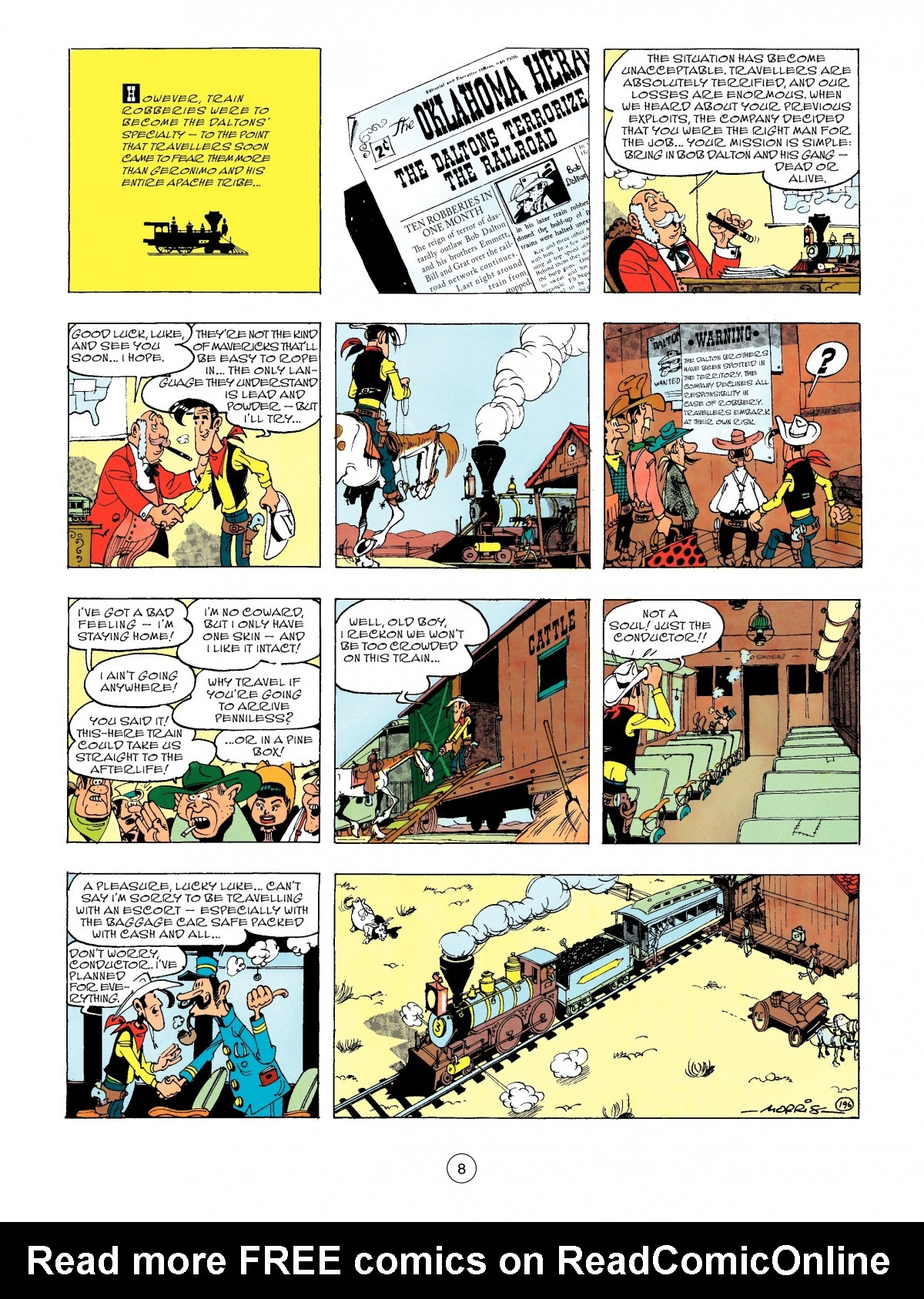 Read online A Lucky Luke Adventure comic -  Issue #47 - 8