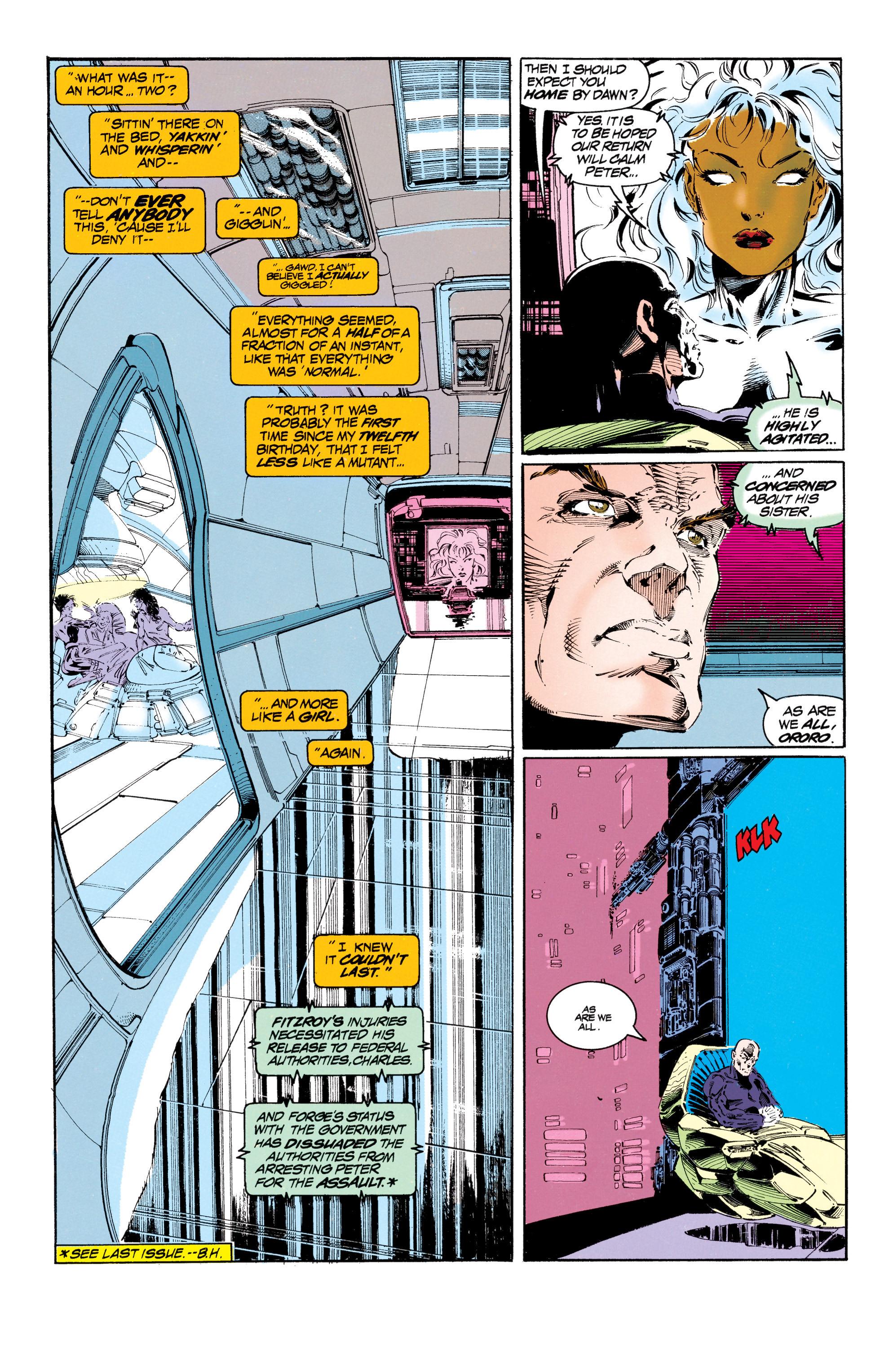 Read online Uncanny X-Men (1963) comic -  Issue #303 - 13