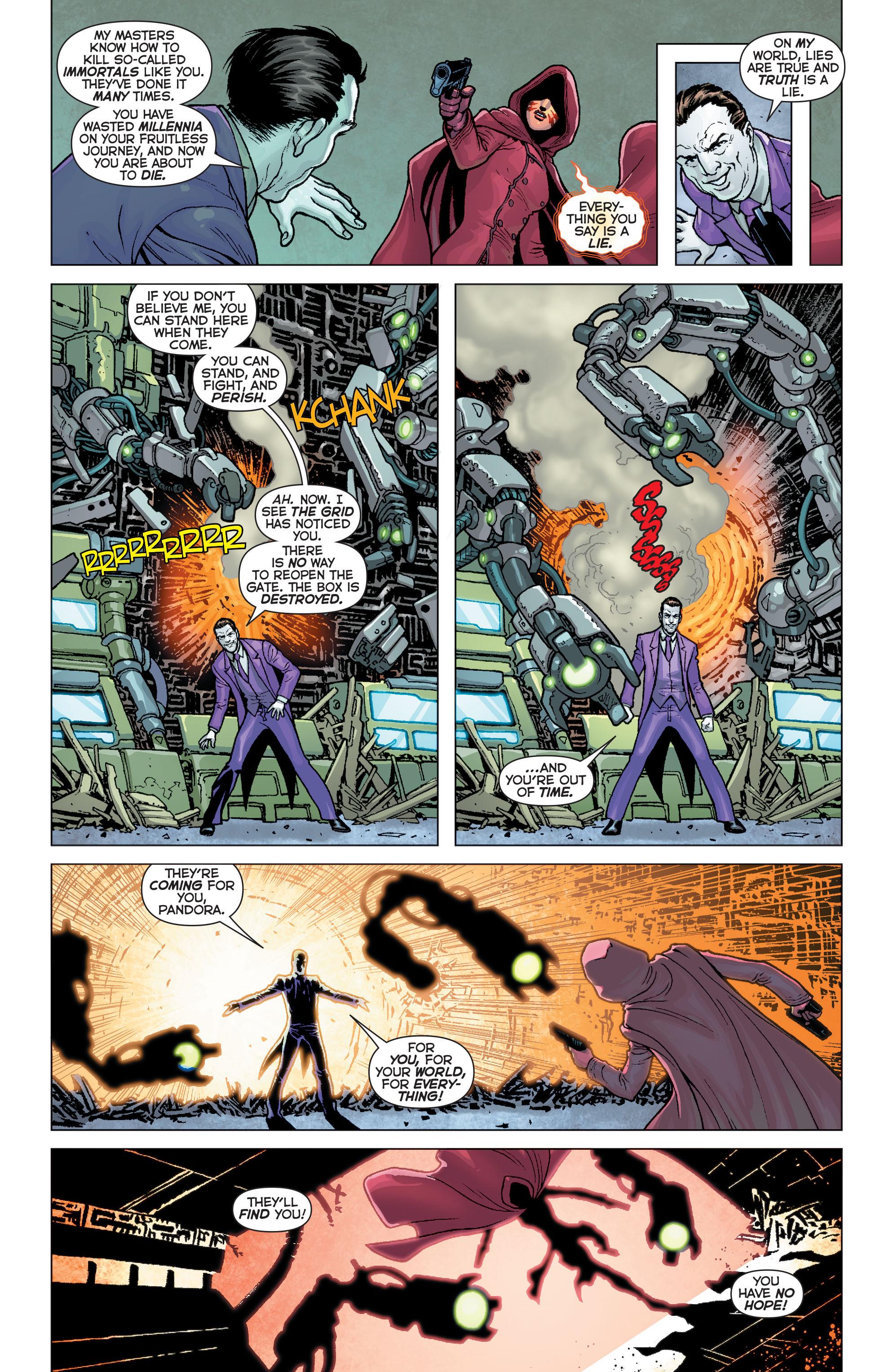 Read online Trinity of Sin: Pandora comic -  Issue #5 - 8