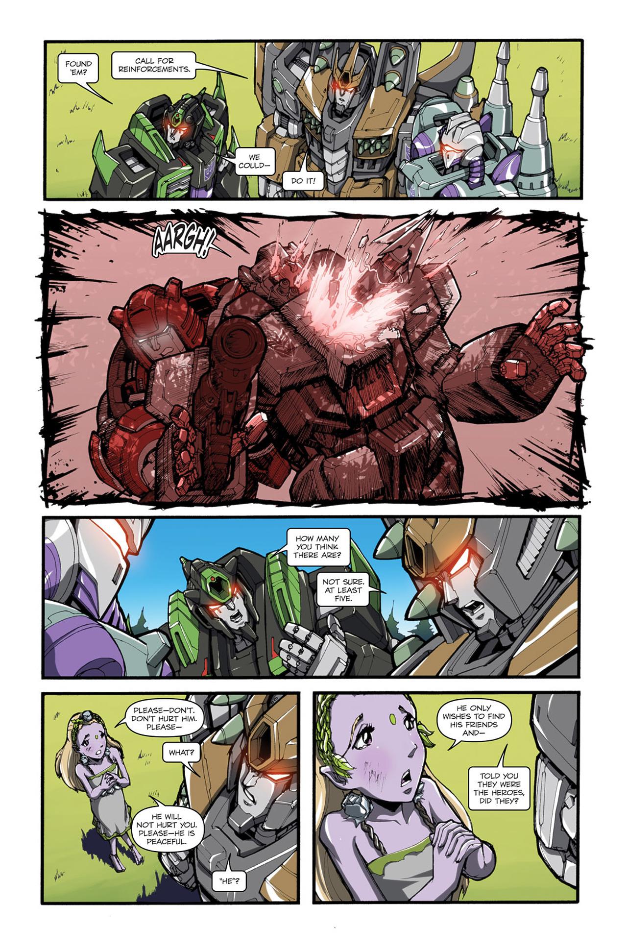 Read online Transformers Spotlight: Cliffjumper comic -  Issue # Full - 18