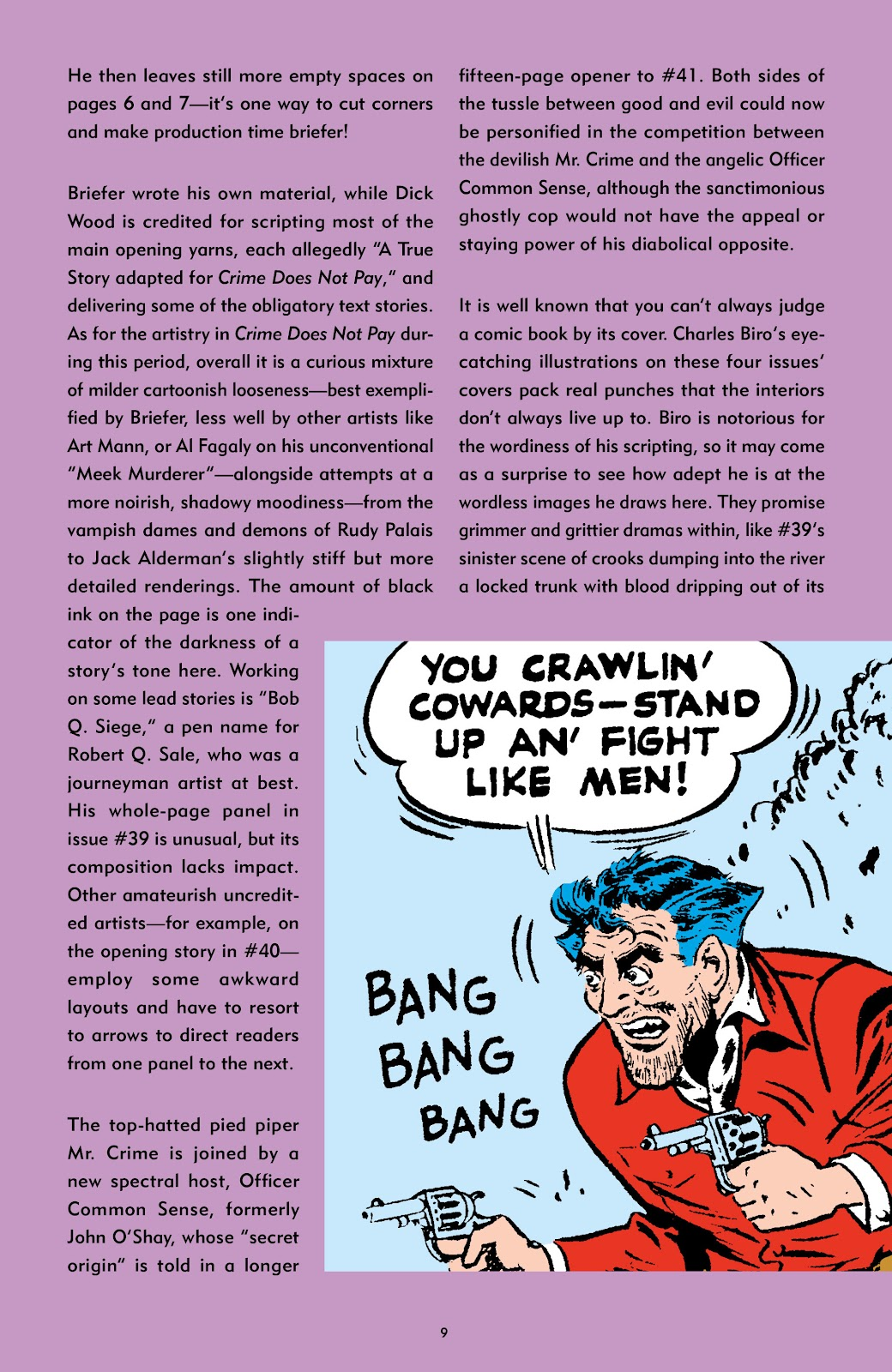 Read online Crime Does Not Pay Archives comic -  Issue # TPB 5 (Part 1) - 9