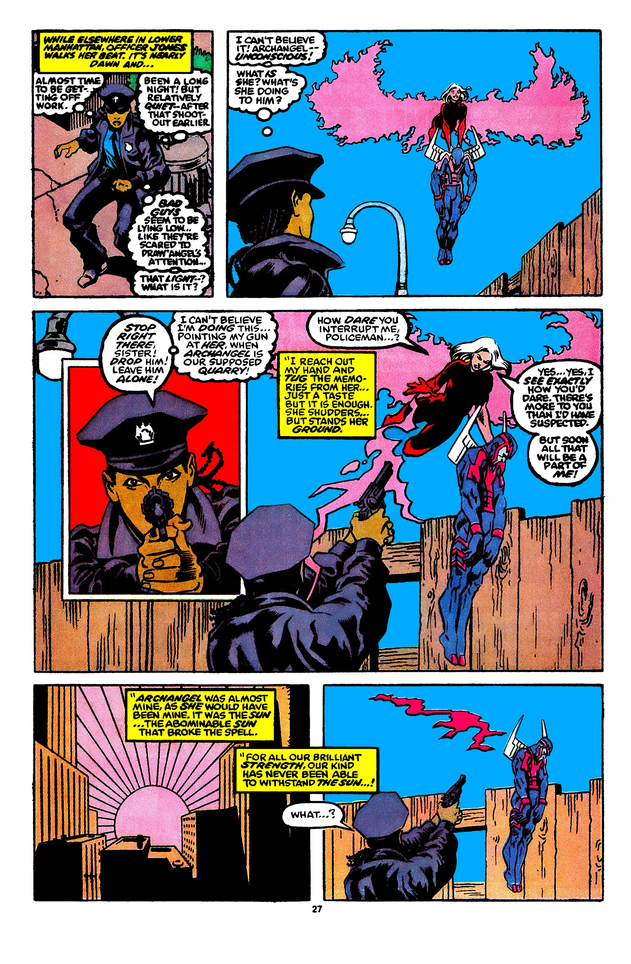 Read online X-Factor (1986) comic -  Issue #56 - 22