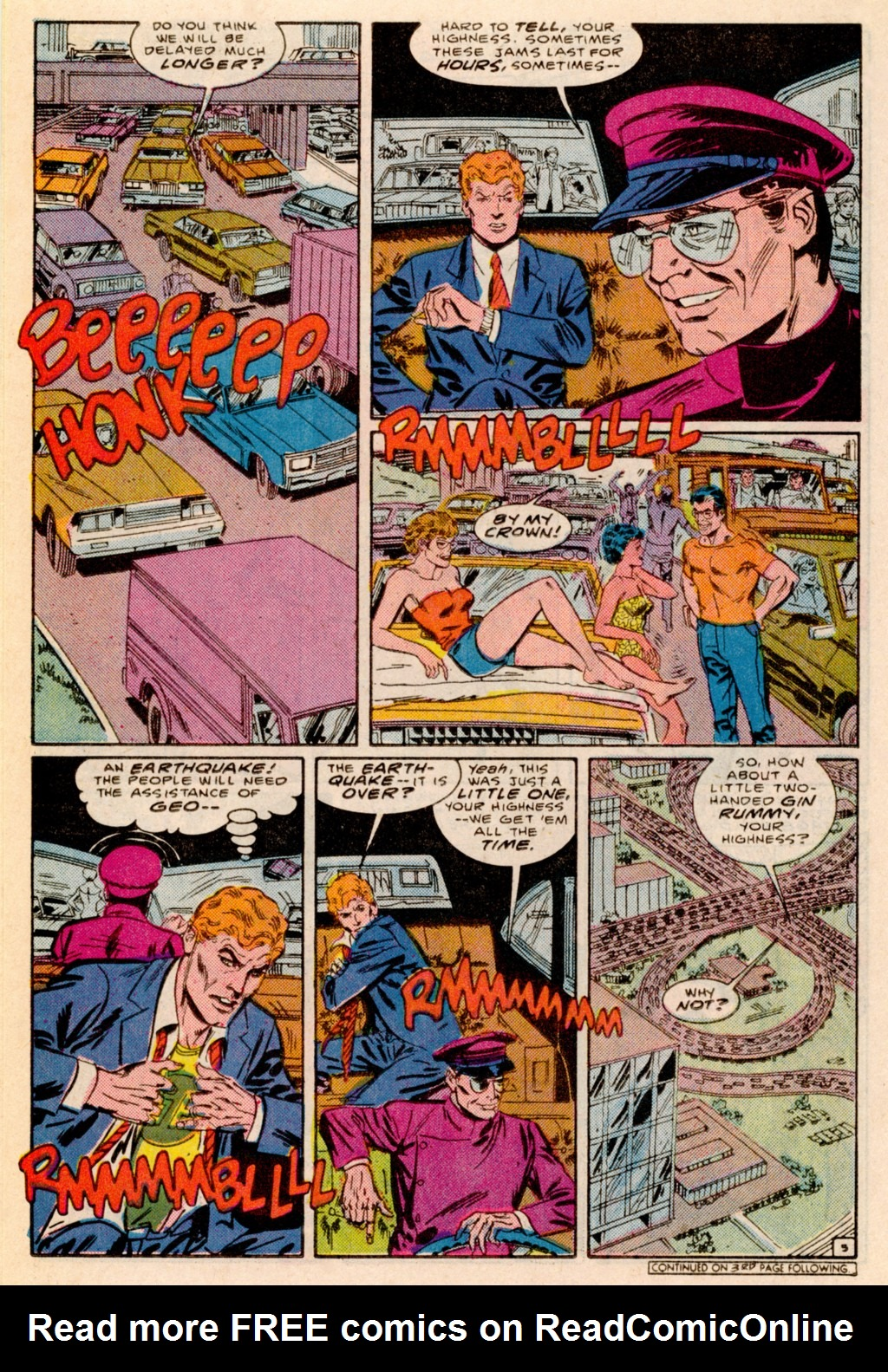 Read online Adventures of the Outsiders comic -  Issue #38 - 17
