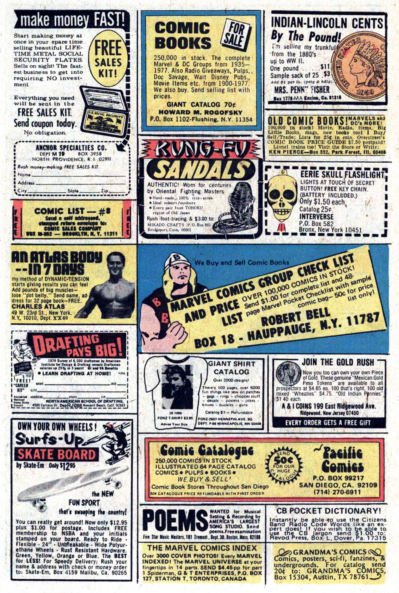 Read online Amazing Adventures (1970) comic -  Issue #39 - 6
