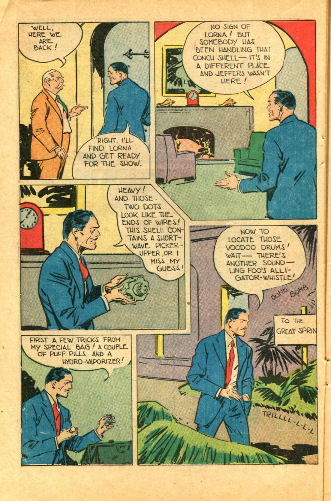 Read online Super-Magician Comics comic -  Issue #49 - 12