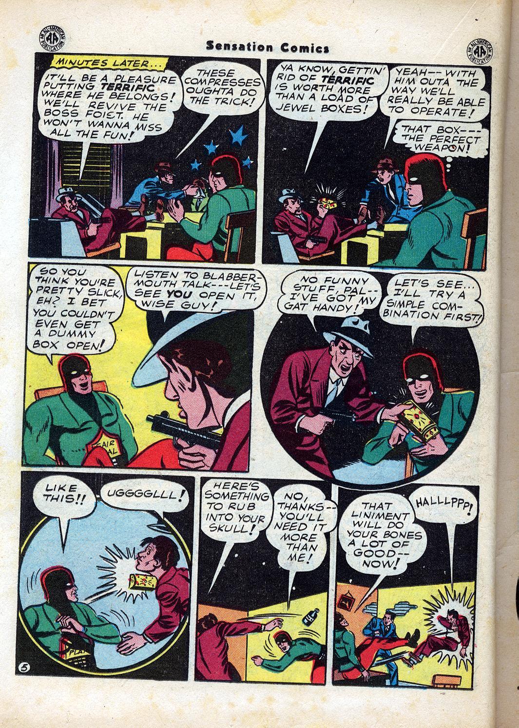 Read online Sensation (Mystery) Comics comic -  Issue #47 - 30