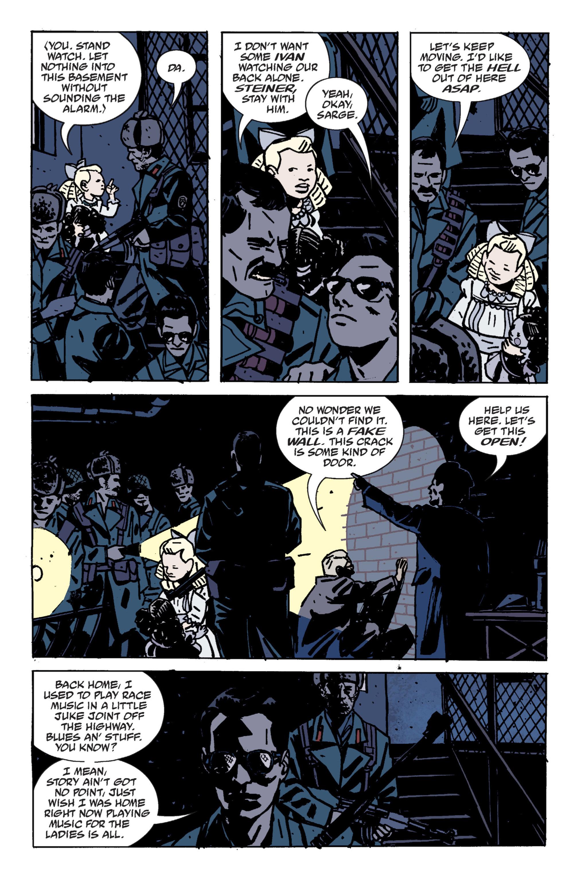 Read online B.P.R.D. (2003) comic -  Issue # TPB 9 - 64