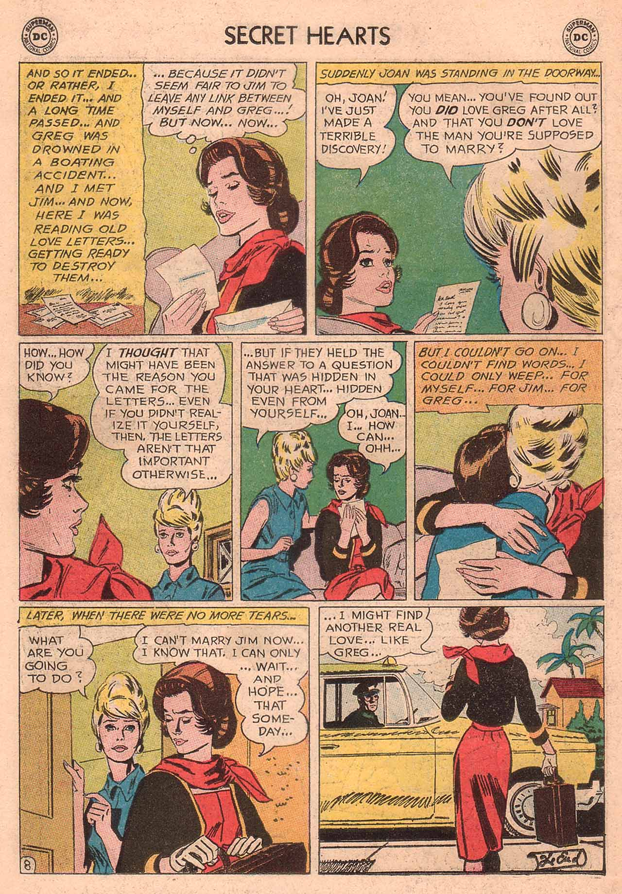 Read online Secret Hearts comic -  Issue #94 - 34
