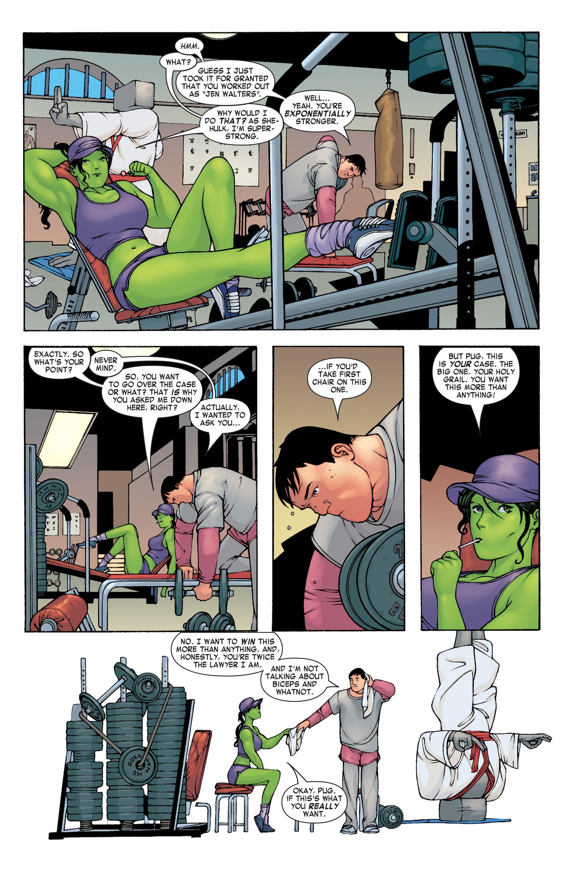 Read online She-Hulk (2004) comic -  Issue #4 - 6