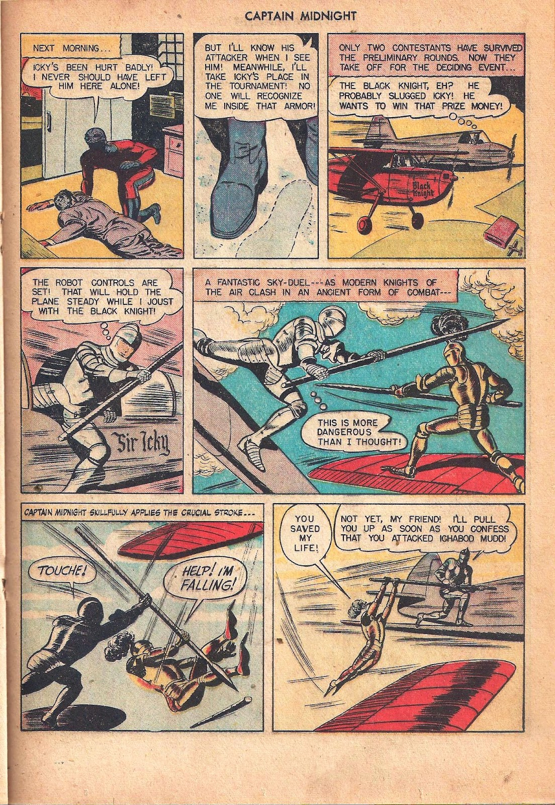 Captain Midnight (1942) issue 53 - Page 29