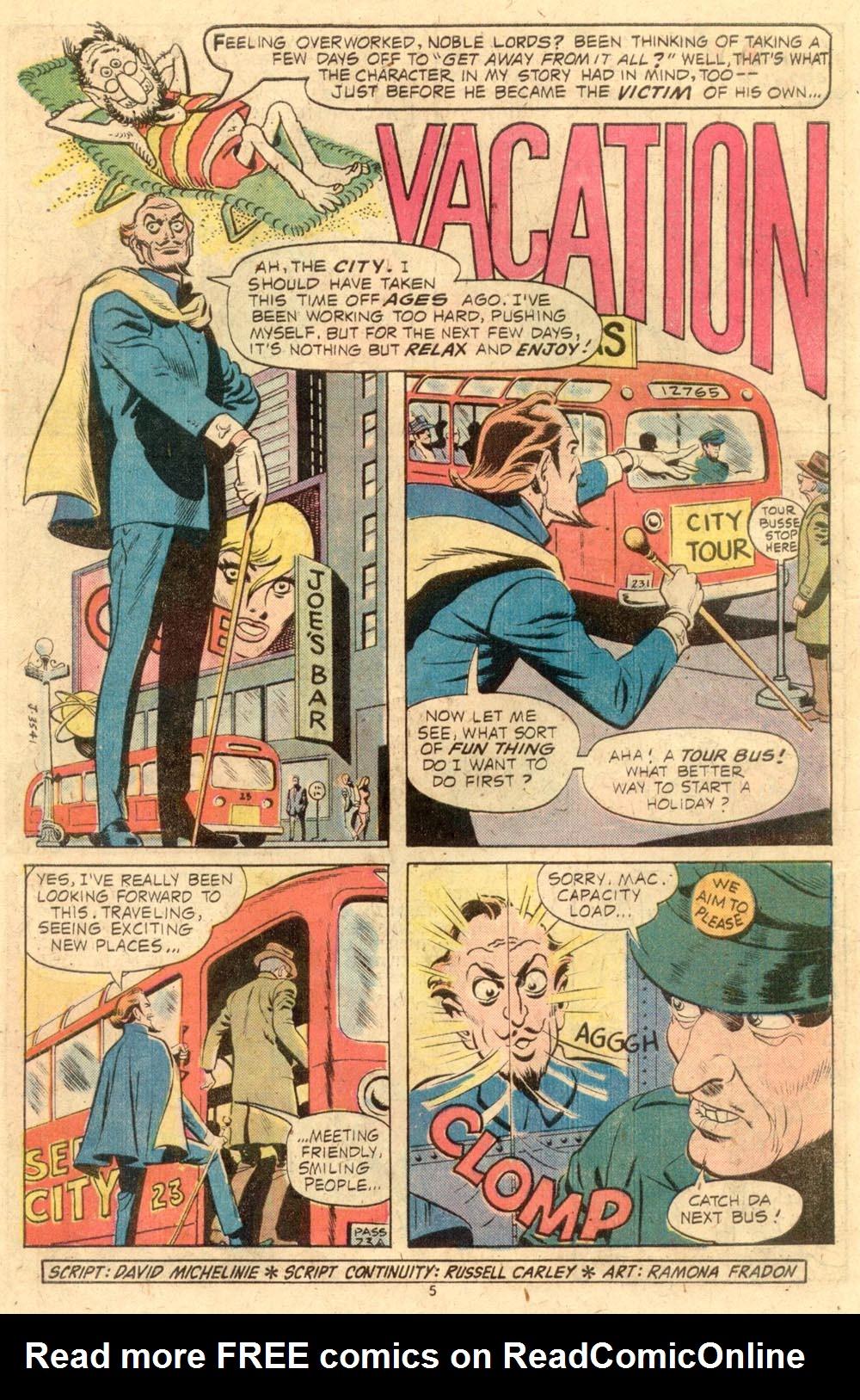 Read online Plop! comic -  Issue #8 - 6