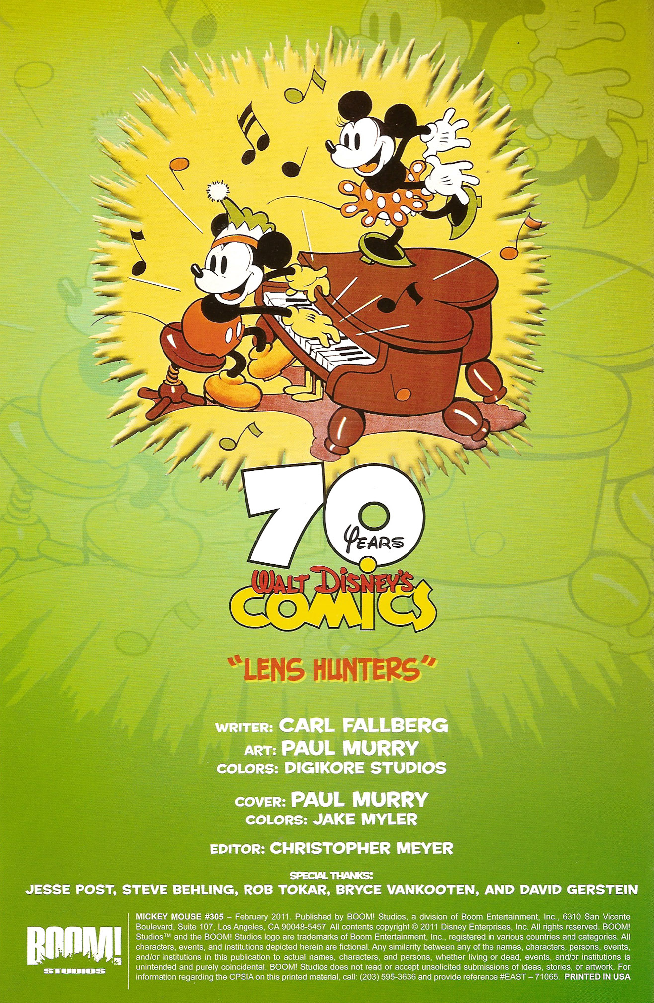 Read online Mickey Mouse (2011) comic -  Issue #305 - 2