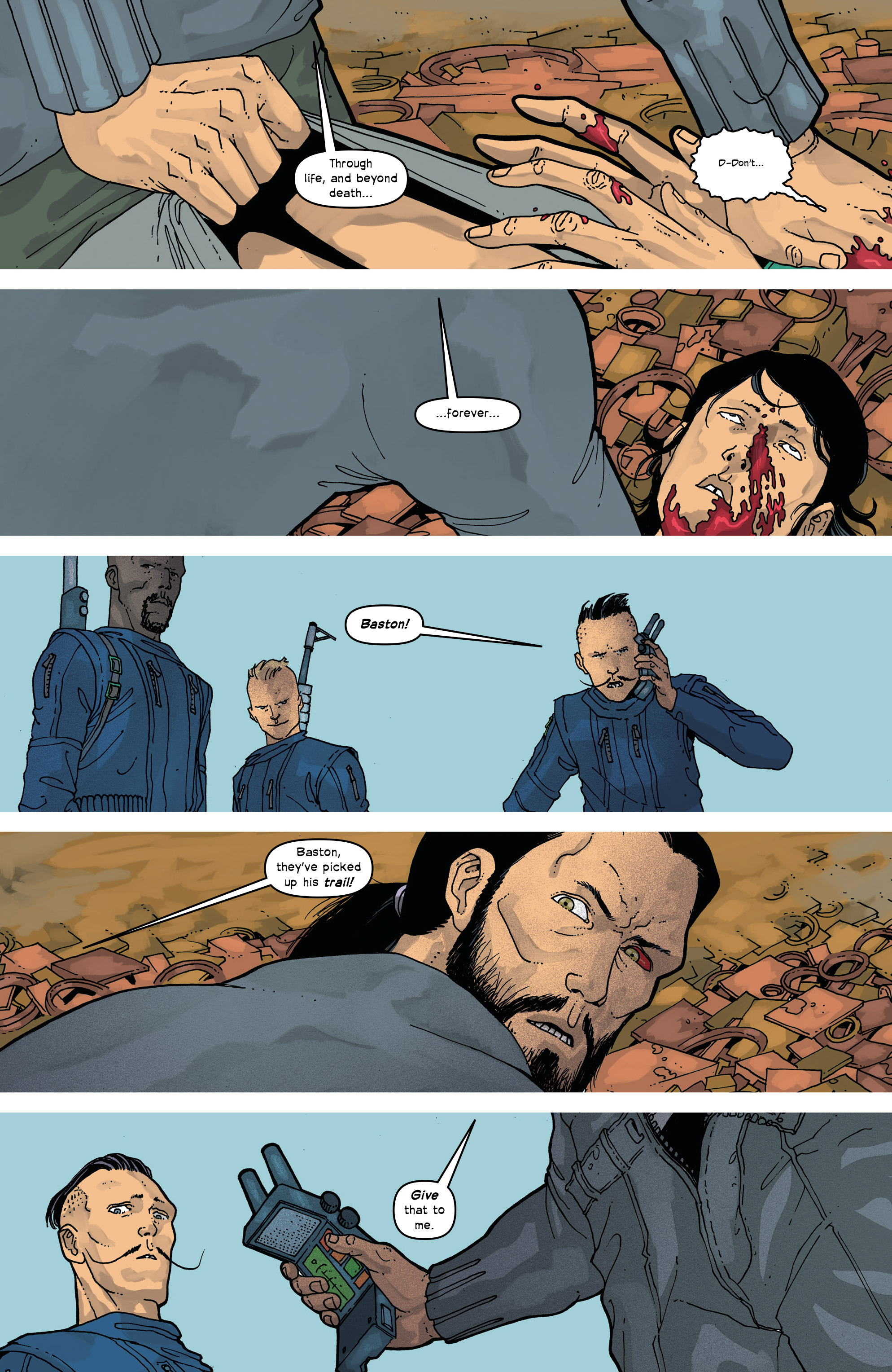 Read online Great Pacific comic -  Issue #17 - 6