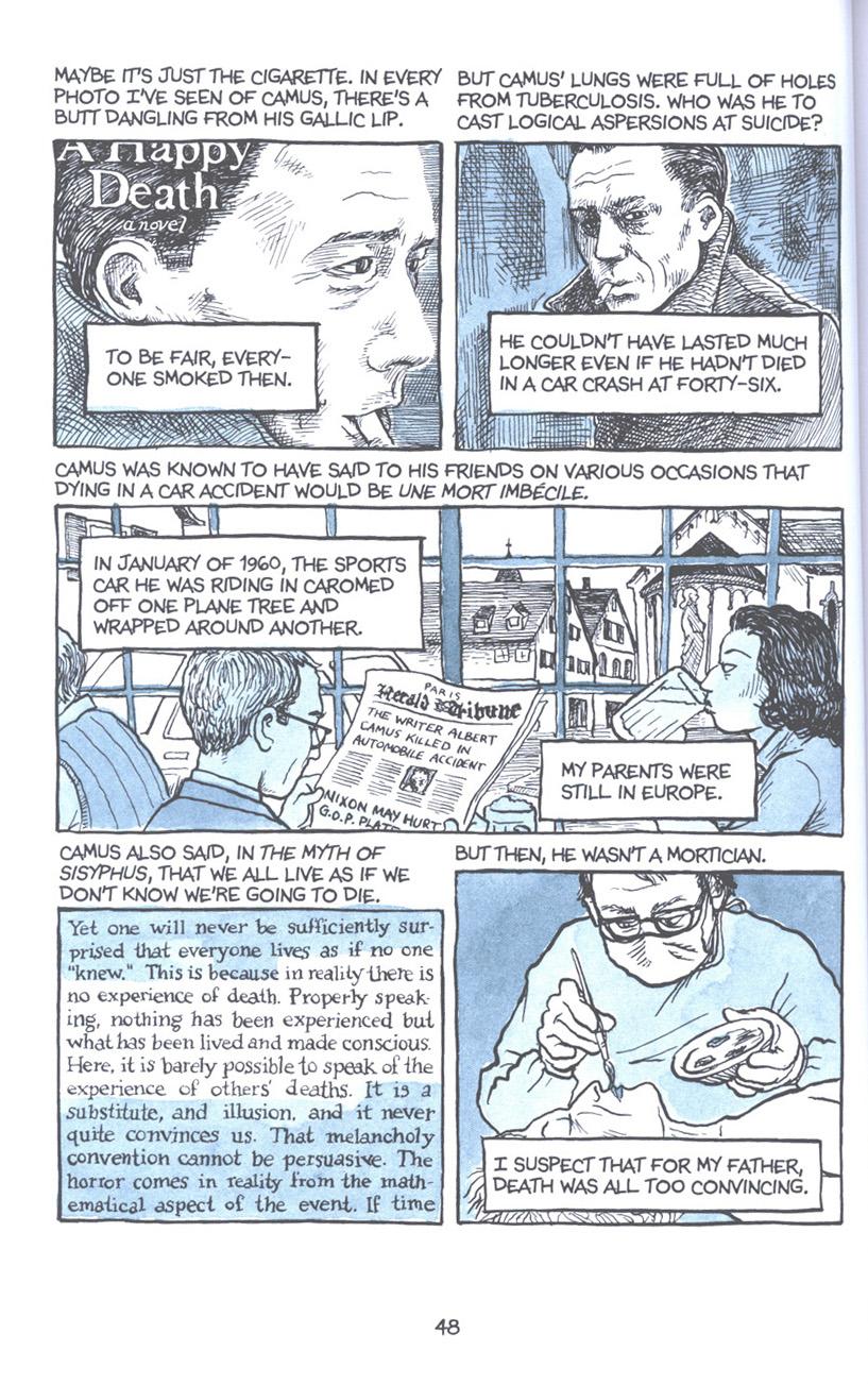 Read online Fun Home: A Family Tragicomic comic -  Issue # TPB - 55