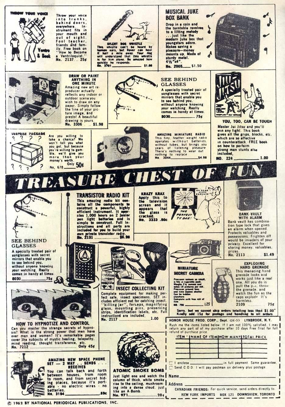 Read online Adventure Comics (1938) comic -  Issue #295 - 2