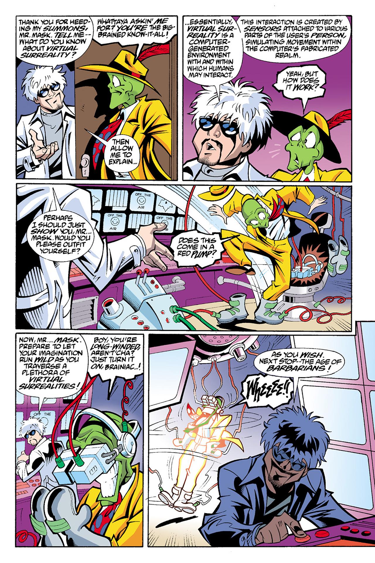 Read online Adventures Of The Mask Omnibus comic -  Issue #Adventures Of The Mask Omnibus Full - 355