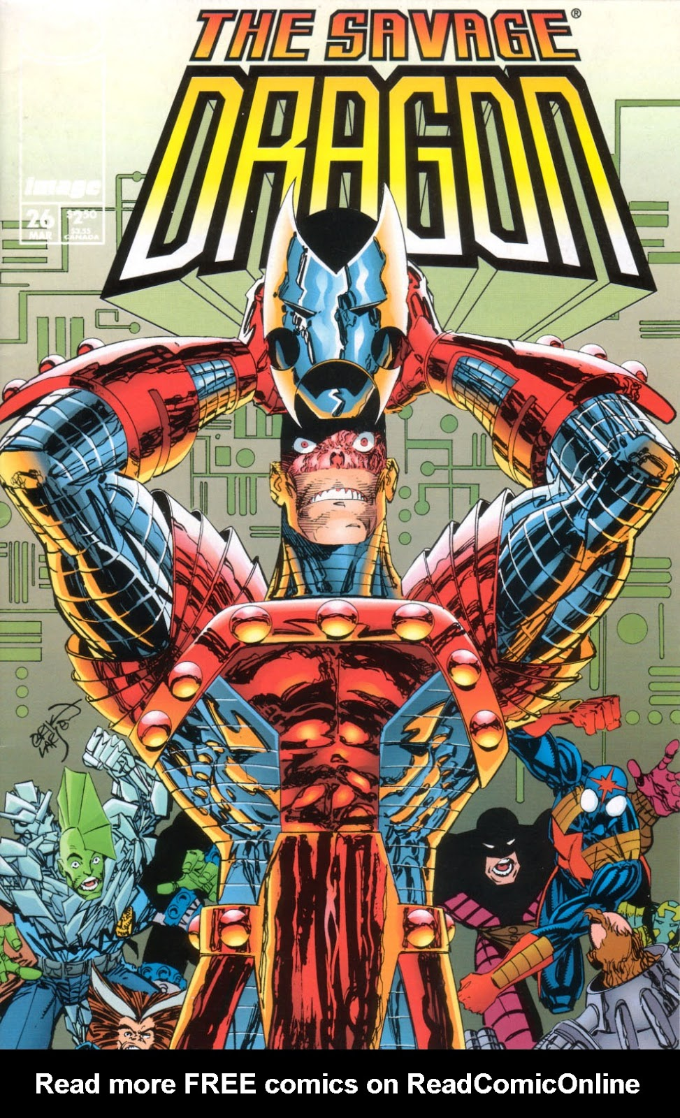 The Savage Dragon (1993) Issue #26 #29 - English 2