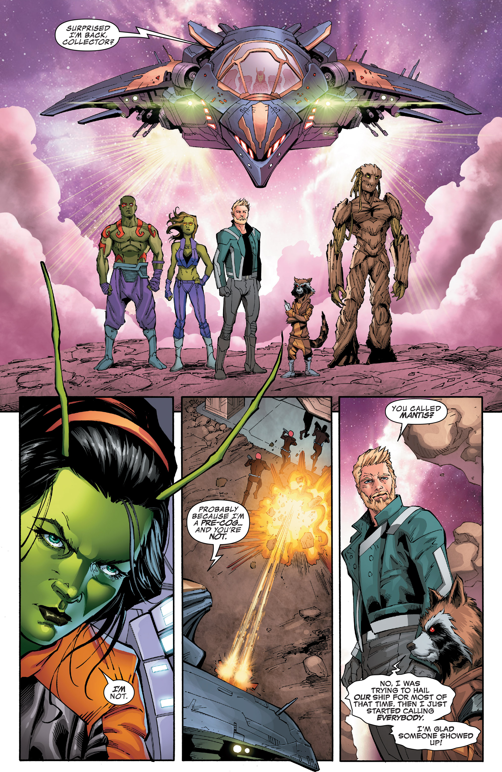 Read online Guardians of the Galaxy: Mission Breakout comic -  Issue # Full - 29