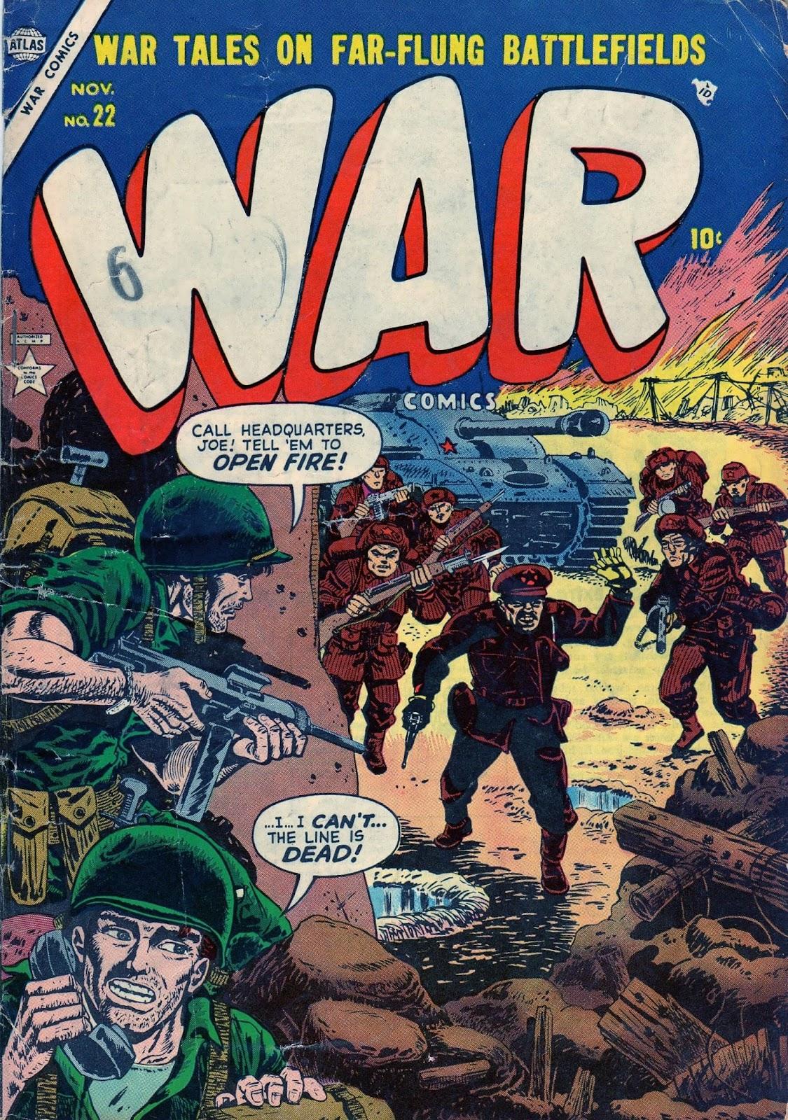 War Comics 22 Page 1