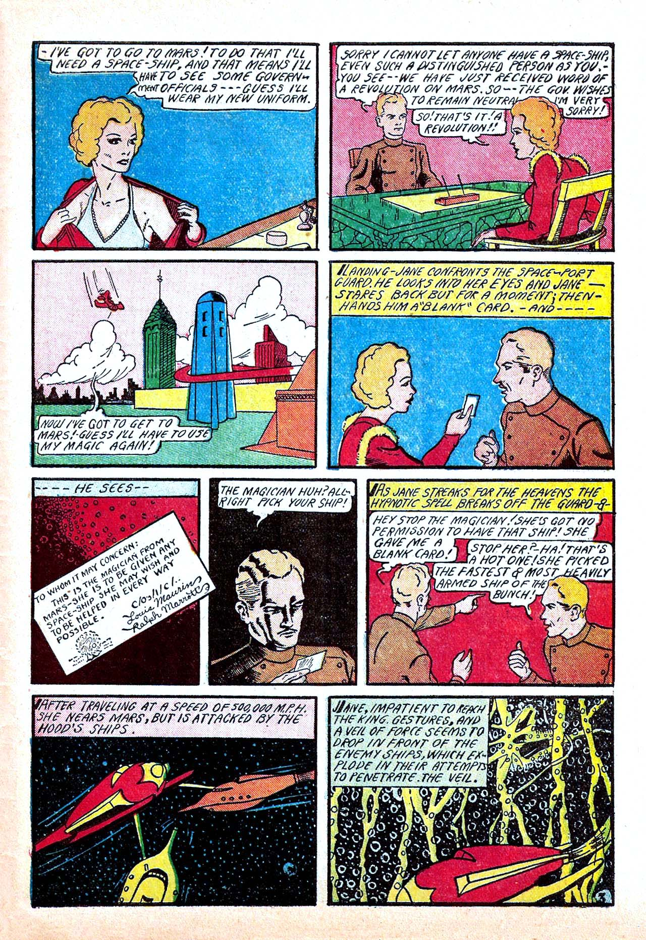 Read online Amazing Man Comics comic -  Issue #11 - 61